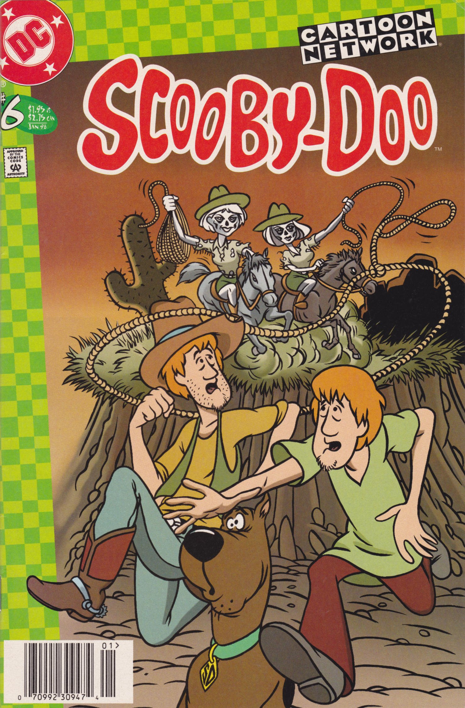 Read online Scooby-Doo (1997) comic -  Issue #6 - 1