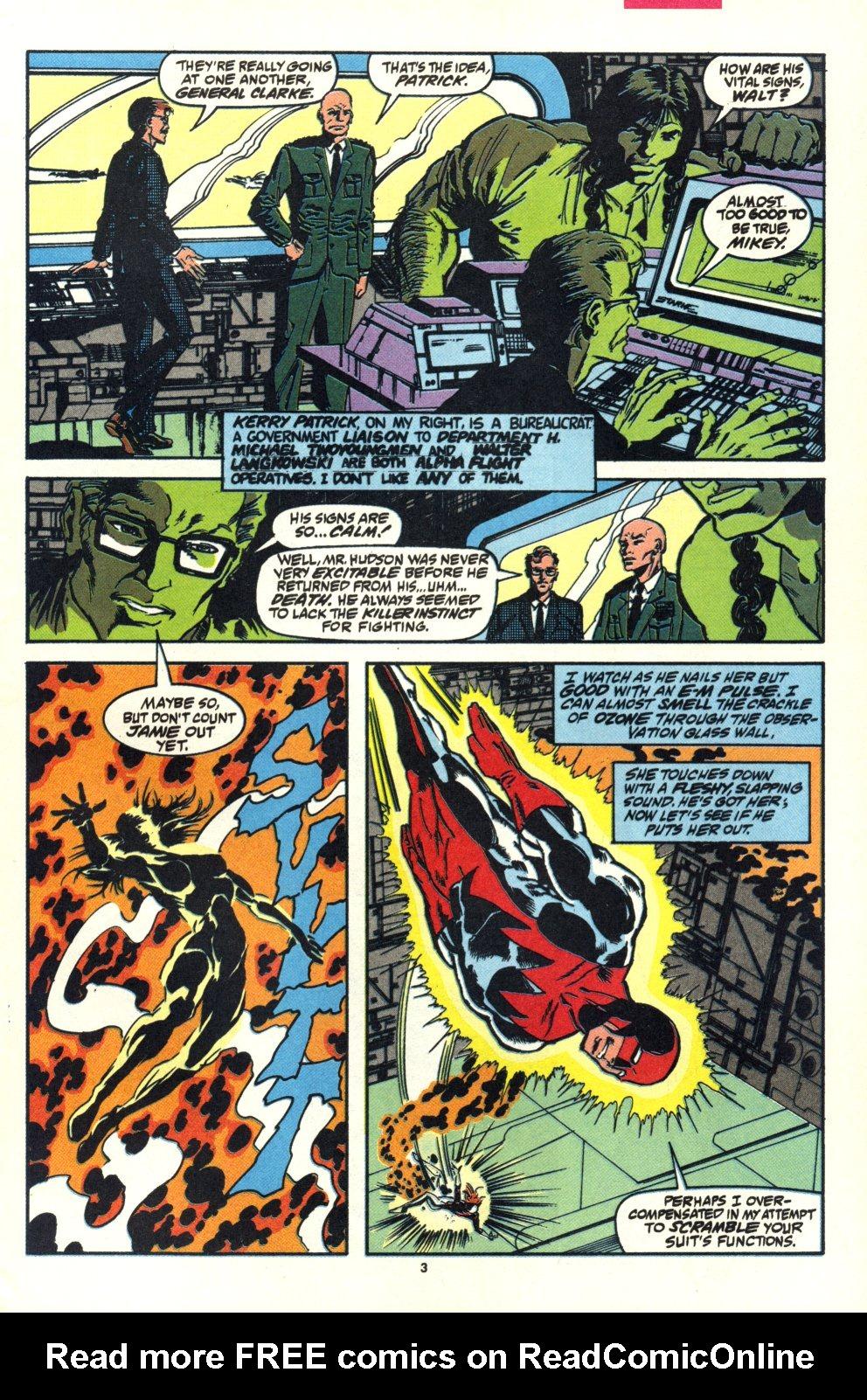 Read online Alpha Flight (1983) comic -  Issue #92 - 4