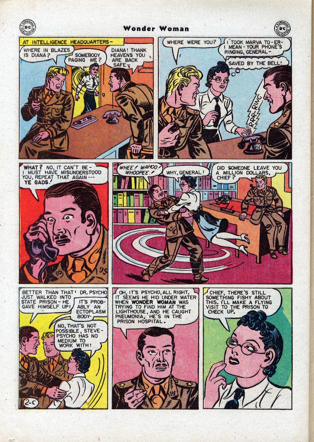 Read online Wonder Woman (1942) comic -  Issue #18 - 40