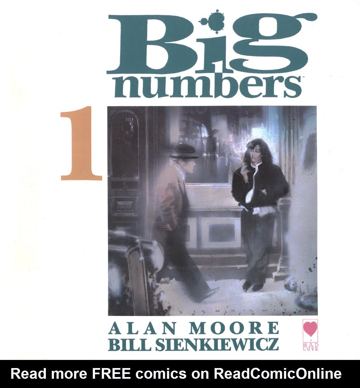 Big Numbers 1 Page 1