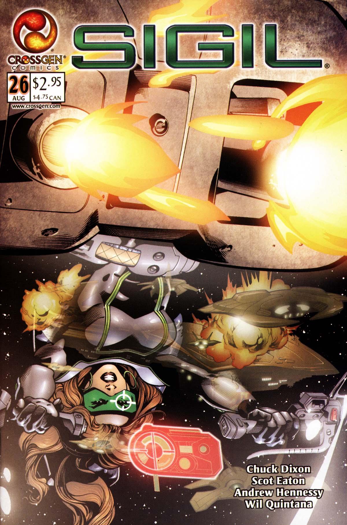 Read online Sigil (2000) comic -  Issue #26 - 1