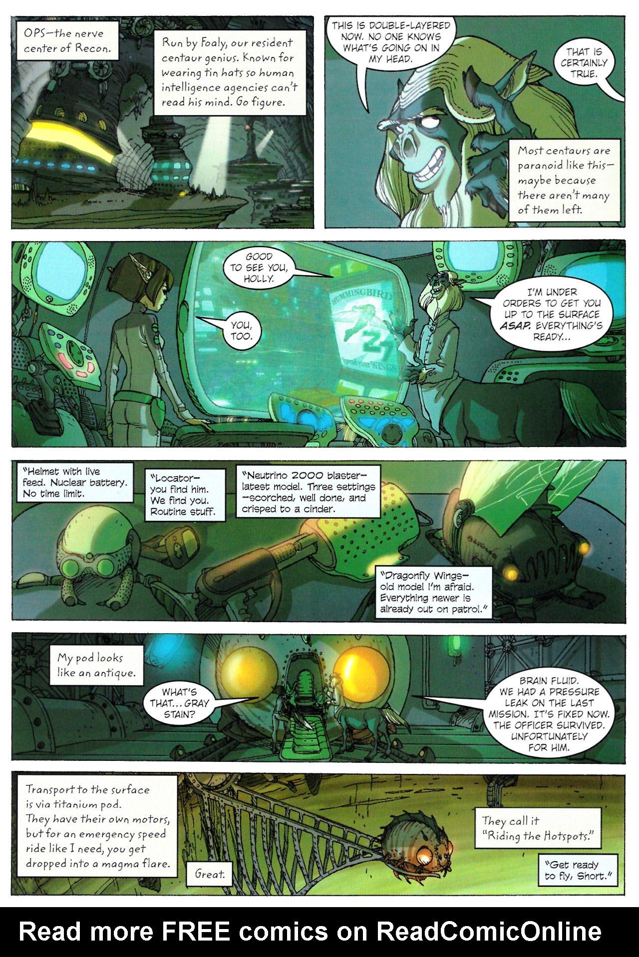 Read online Artemis Fowl: The Graphic Novel comic -  Issue #Artemis Fowl: The Graphic Novel Full - 25