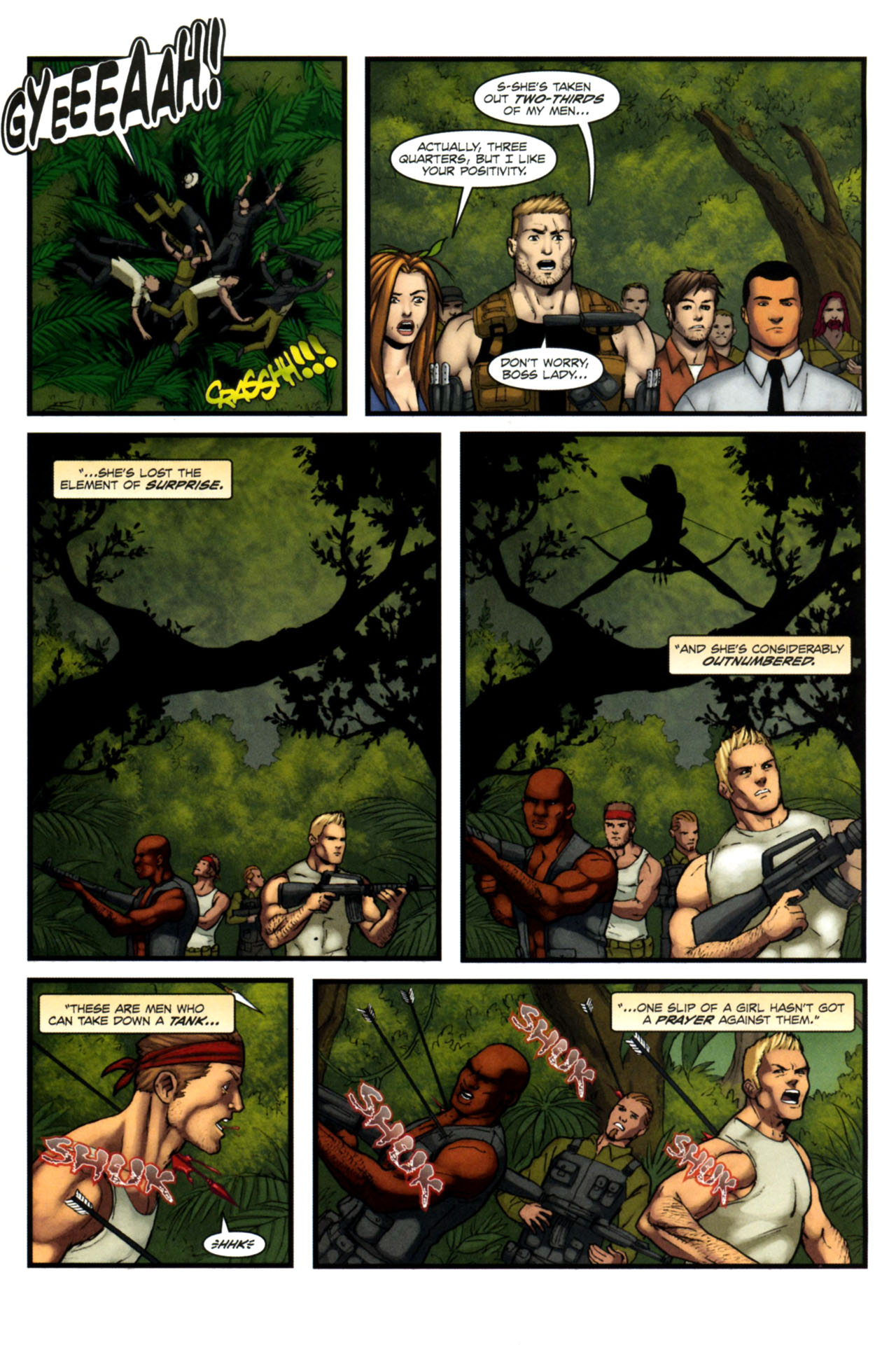 Read online Sheena, Queen of the Jungle comic -  Issue #4 - 20