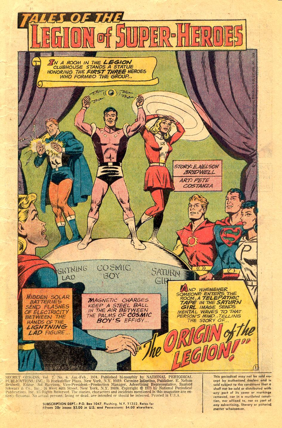 Read online Secret Origins (1973) comic -  Issue #6 - 3