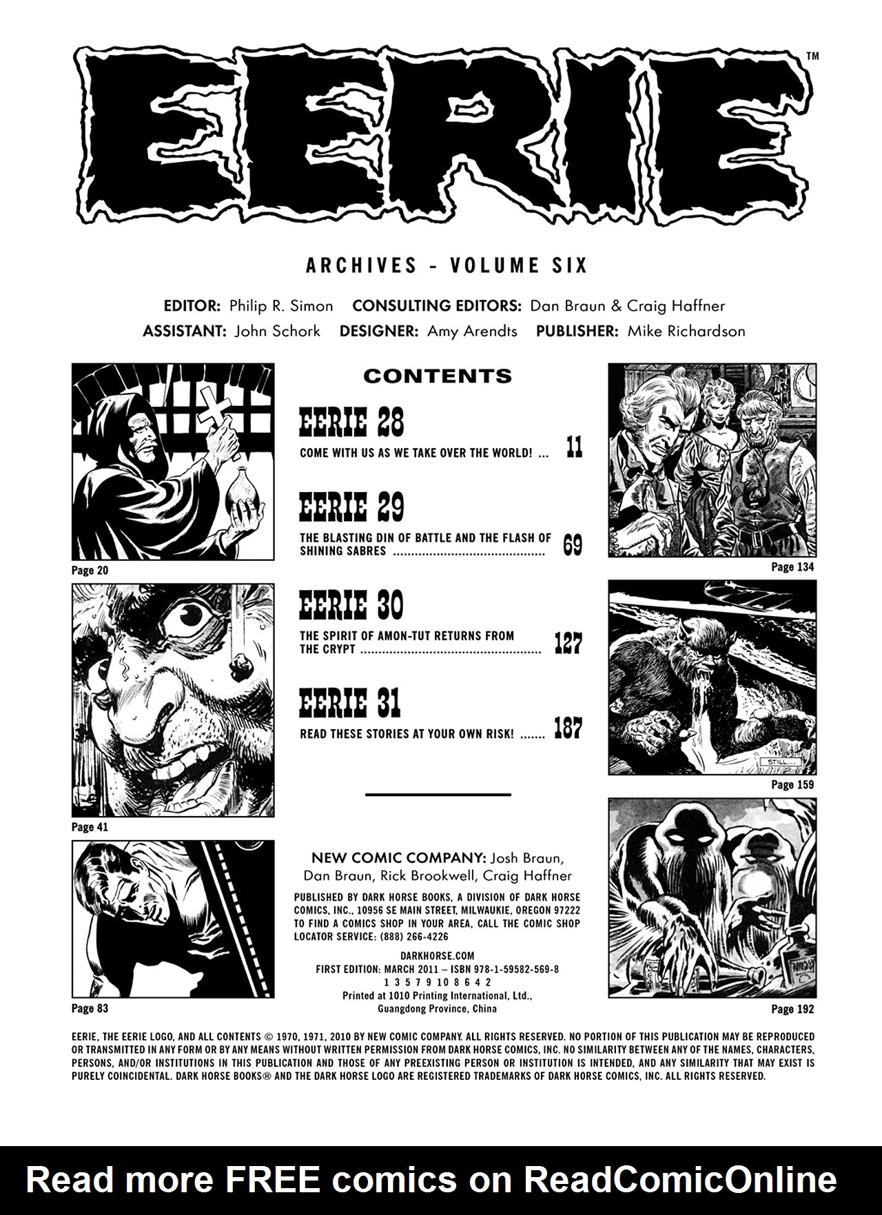Read online Eerie Archives comic -  Issue # TPB 6 - 4