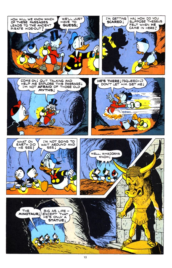 Read online Uncle Scrooge (1953) comic -  Issue #253 - 13