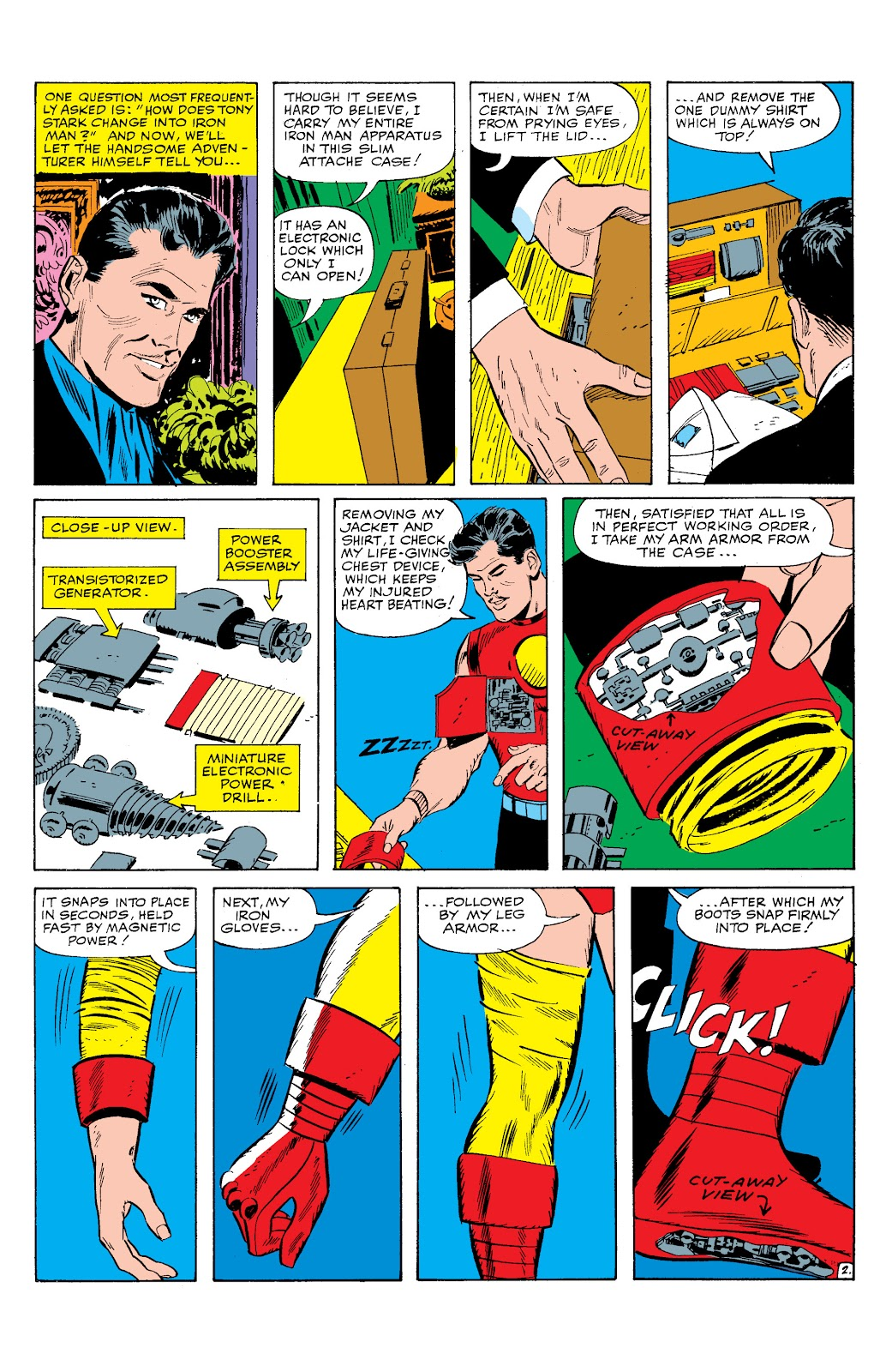 Read online Marvel Masterworks: The Invincible Iron Man comic -  Issue # TPB 2 (Part 1) - 76