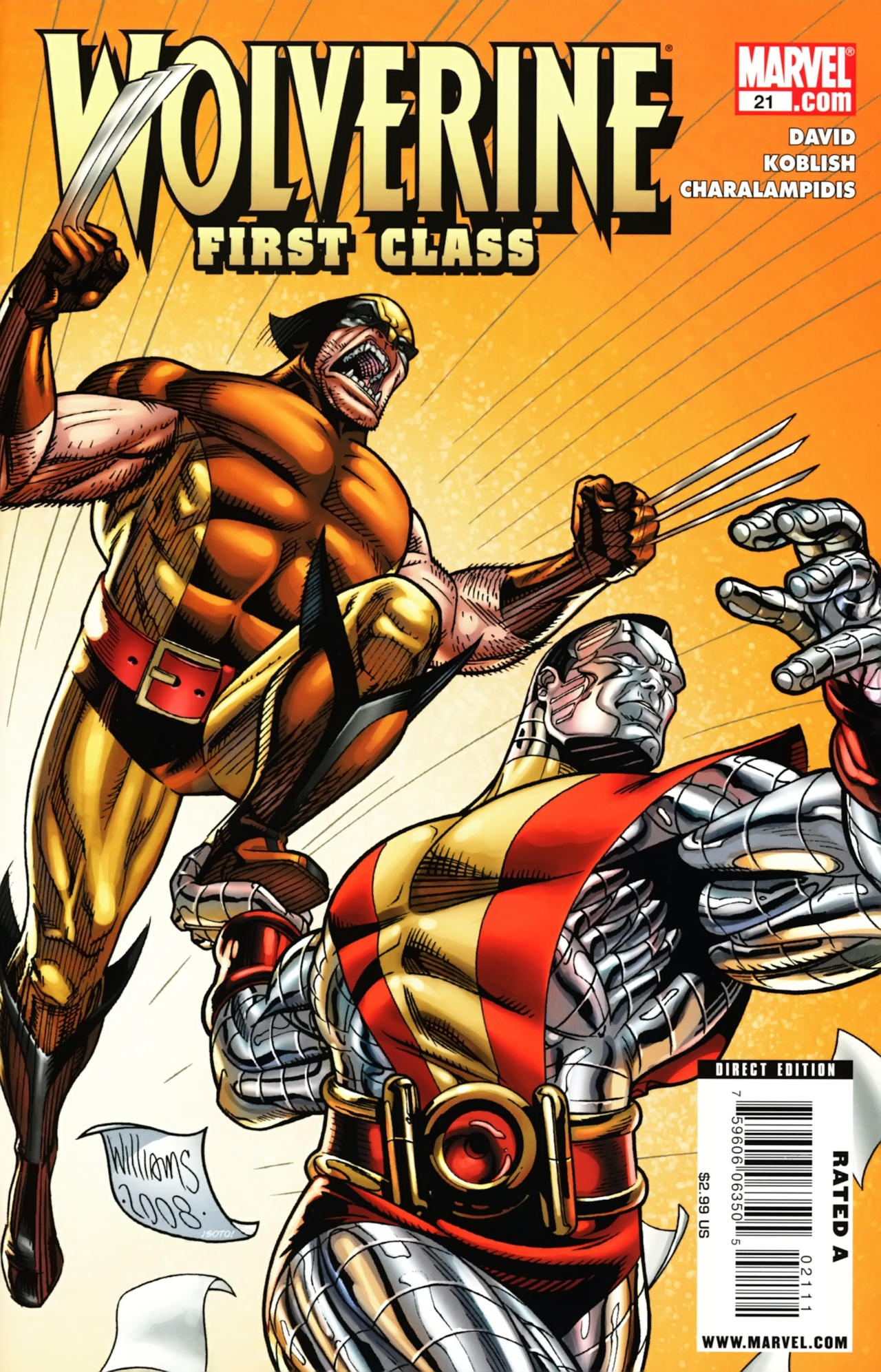 Read online Wolverine: First Class comic -  Issue #21 - 1