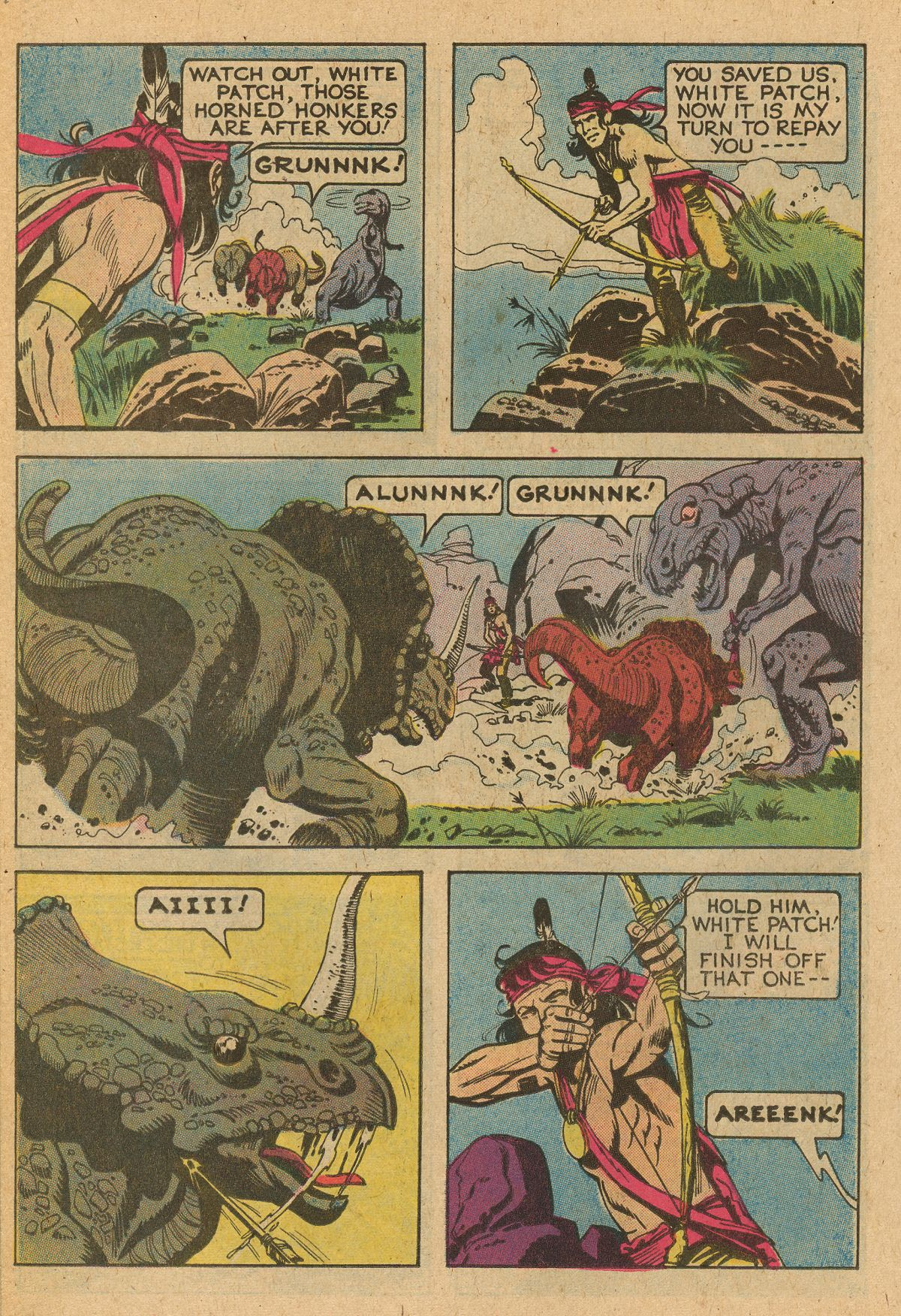 Read online Turok, Son of Stone comic -  Issue #115 - 42