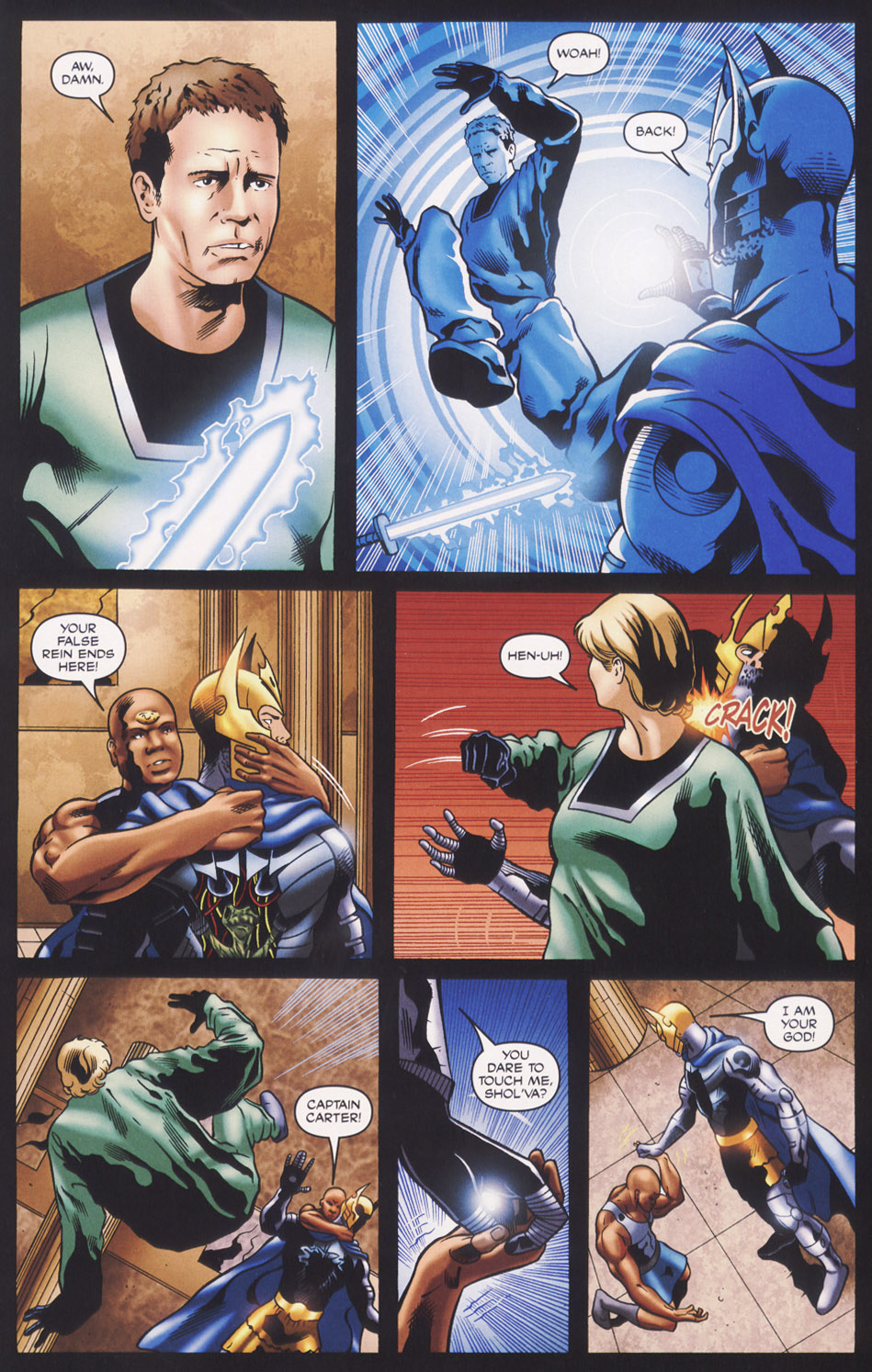 Read online Stargate SG-1: Fall of Rome comic -  Issue #3 - 21