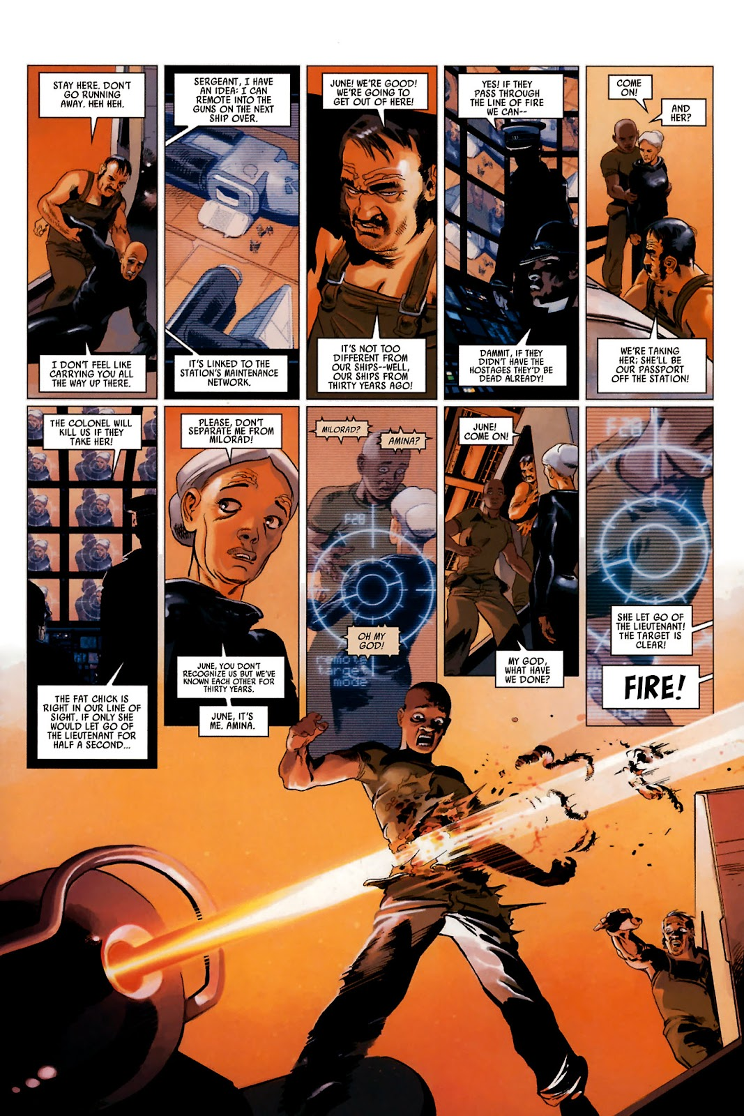 Read online Universal War One: Revelations comic -  Issue #2 - 31