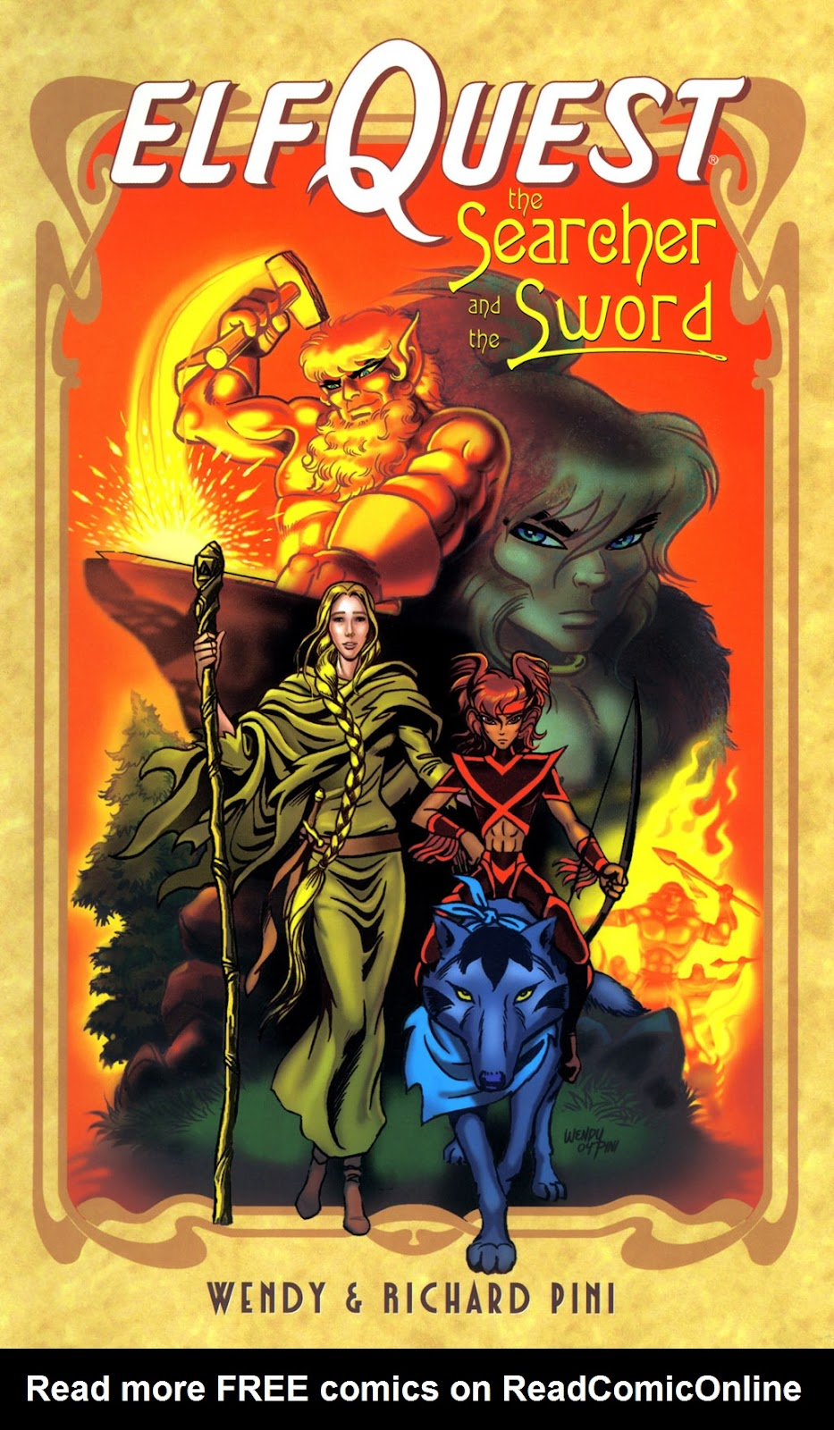 Elfquest: The Searcher and the Sword issue TPB - Page 1