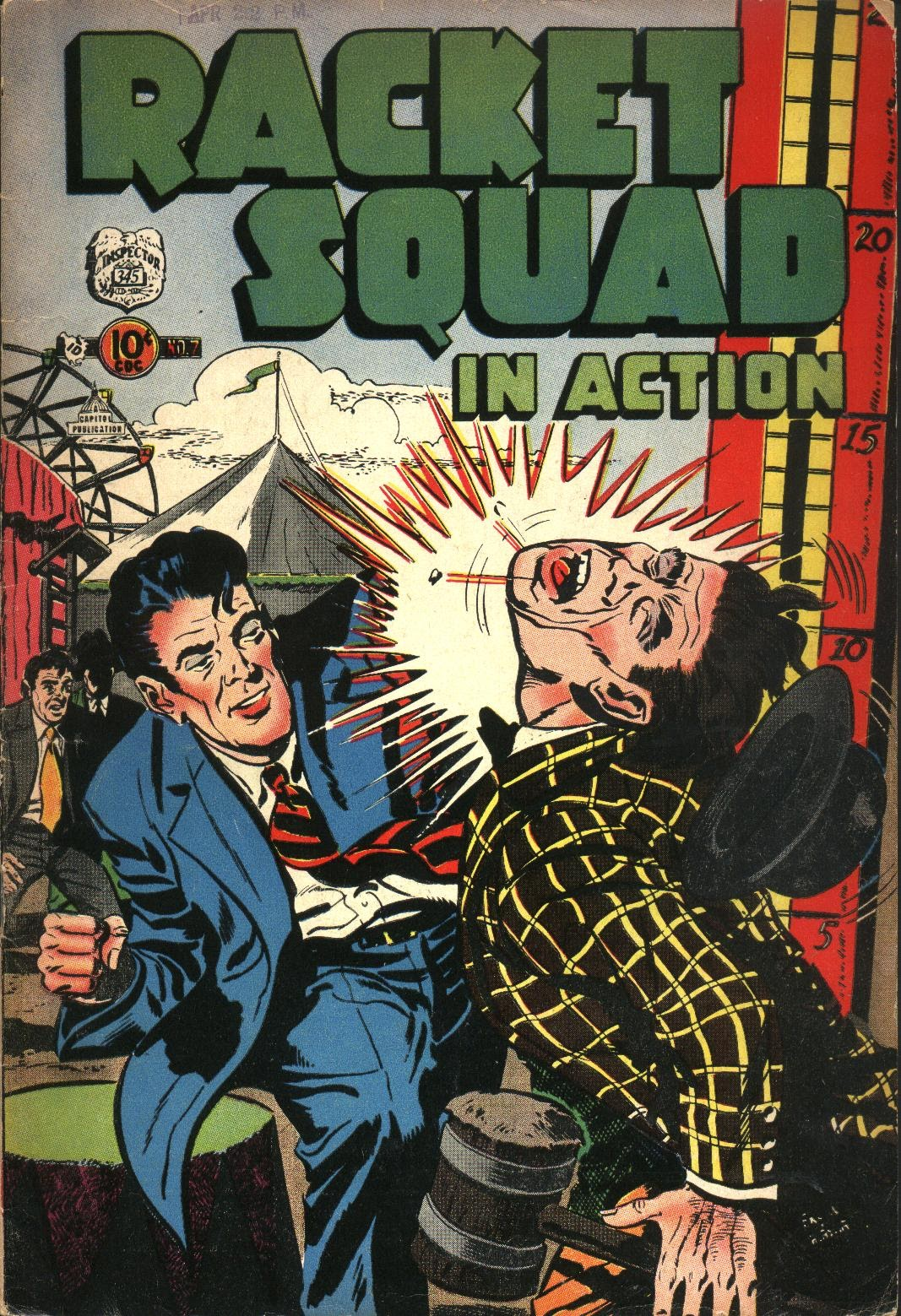 Read online Racket Squad in Action comic -  Issue #7 - 1
