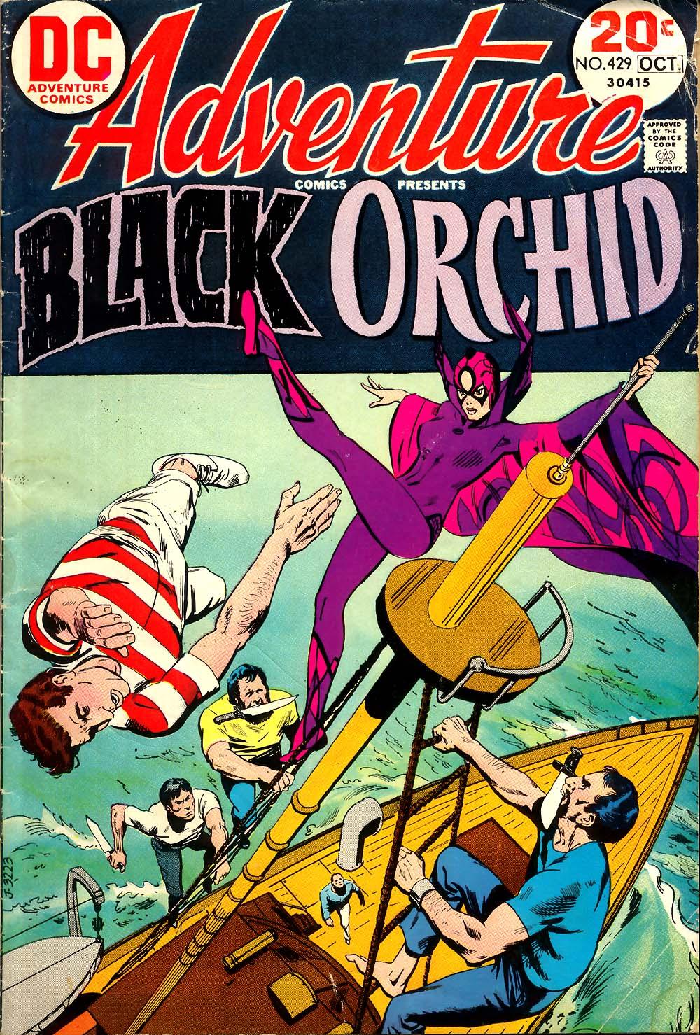 Read online Adventure Comics (1938) comic -  Issue #429 - 1
