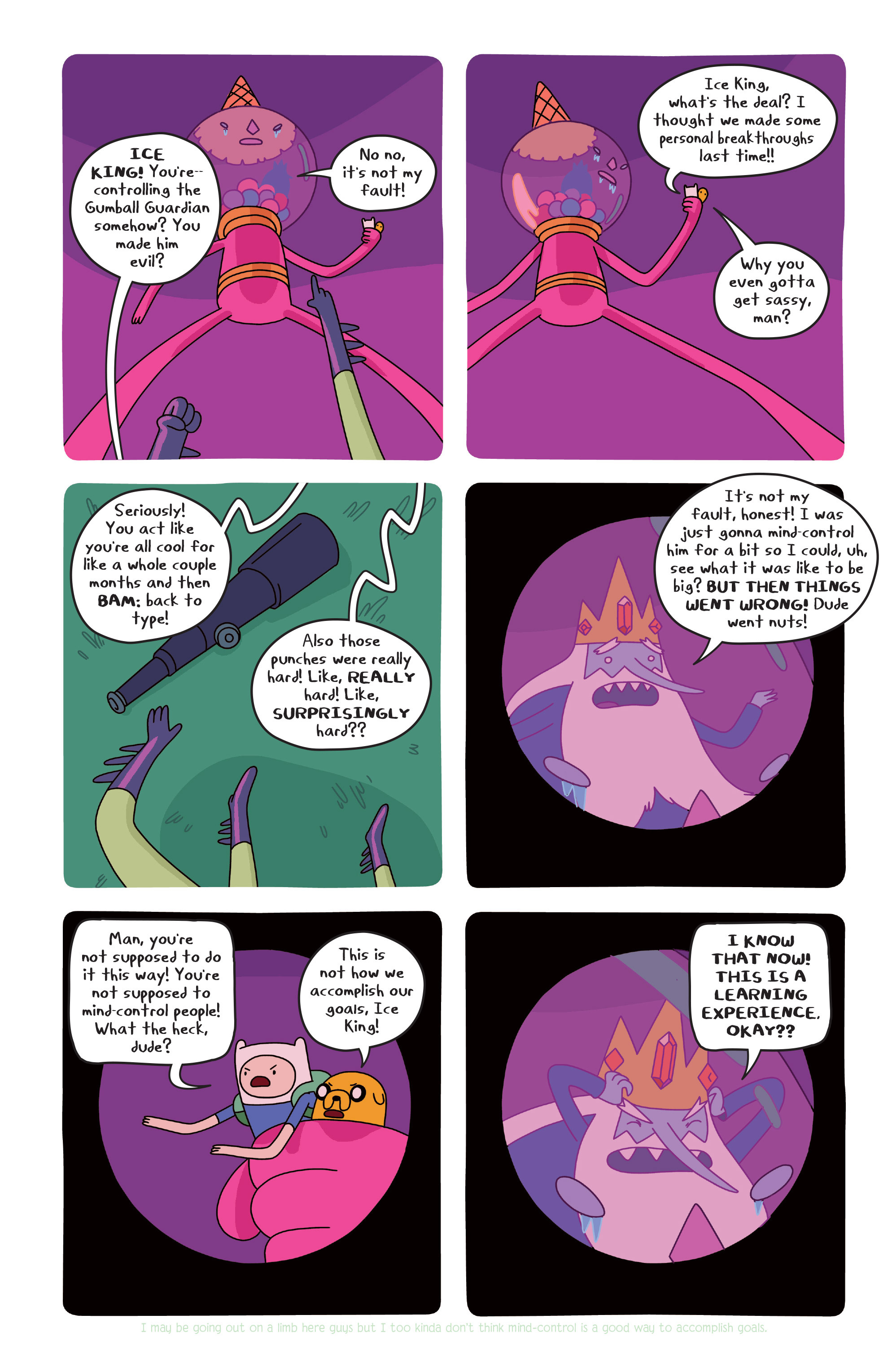 Read online Adventure Time comic -  Issue #20 - 12