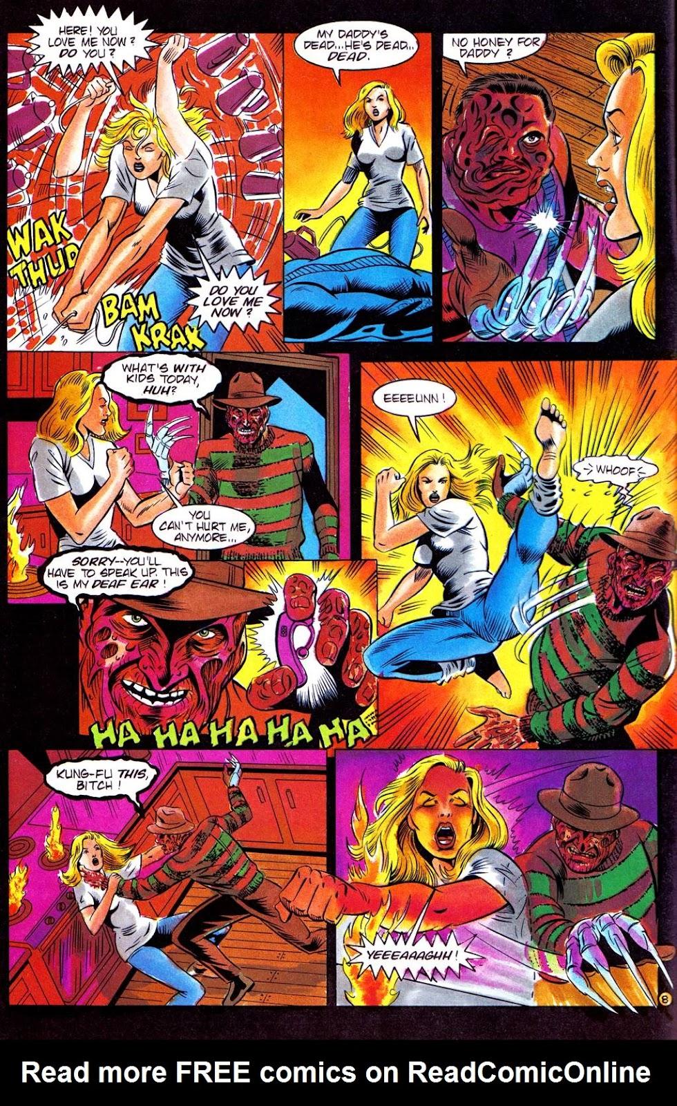 Read online Freddy's Dead: The Final Nightmare comic -  Issue #3 - 10