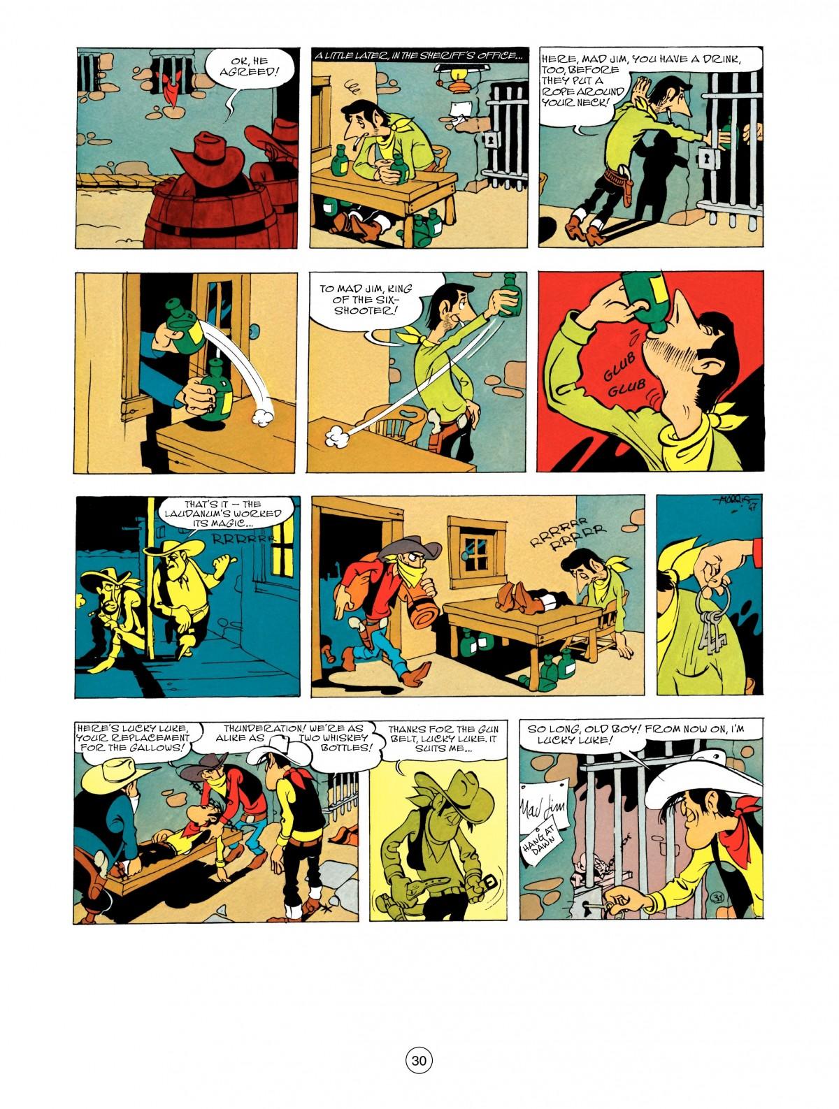 Read online A Lucky Luke Adventure comic -  Issue #48 - 30