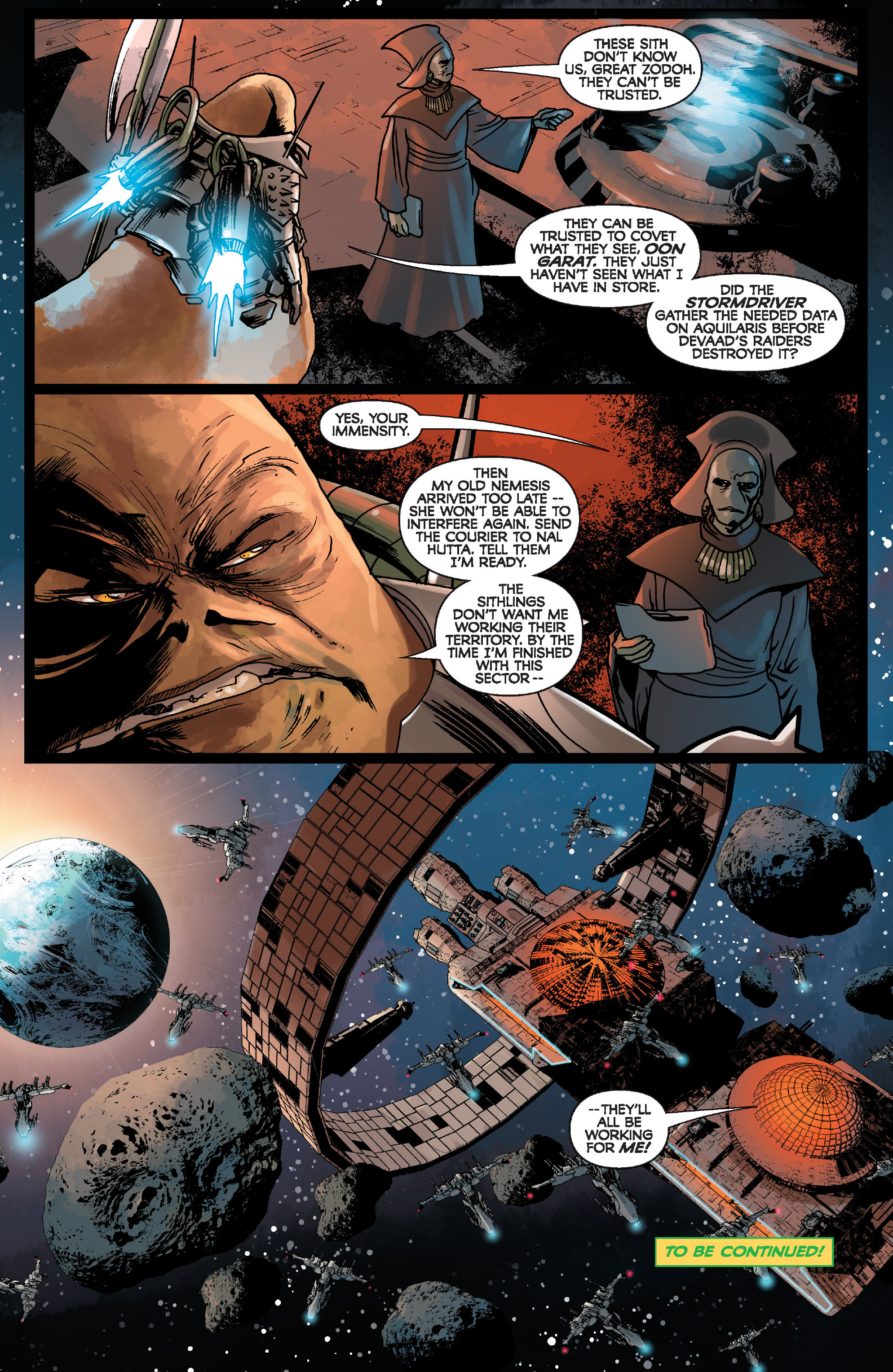 Read online Star Wars: Knight Errant - Deluge comic -  Issue #1 - 24
