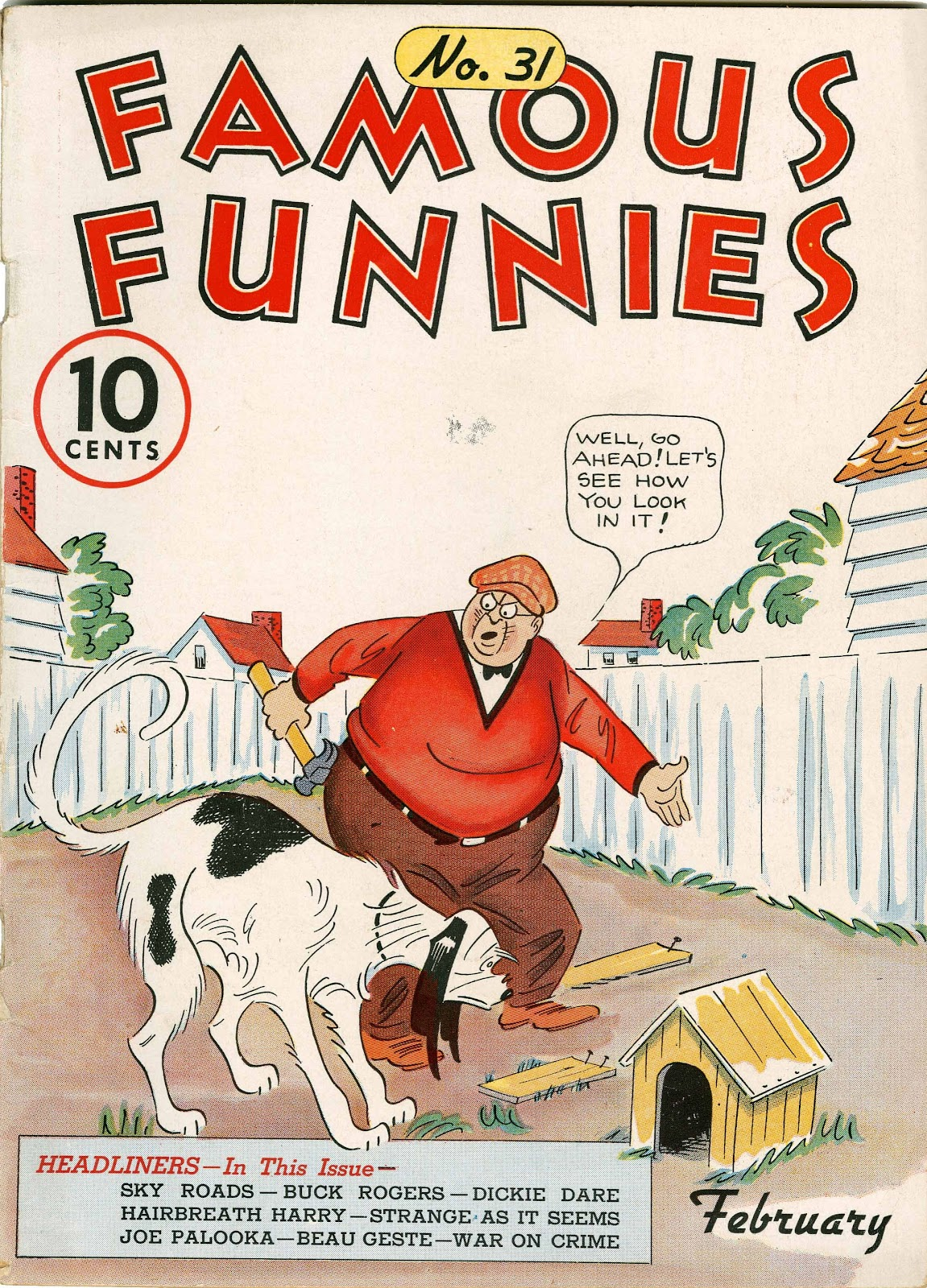 Read online Famous Funnies comic -  Issue #31 - 1