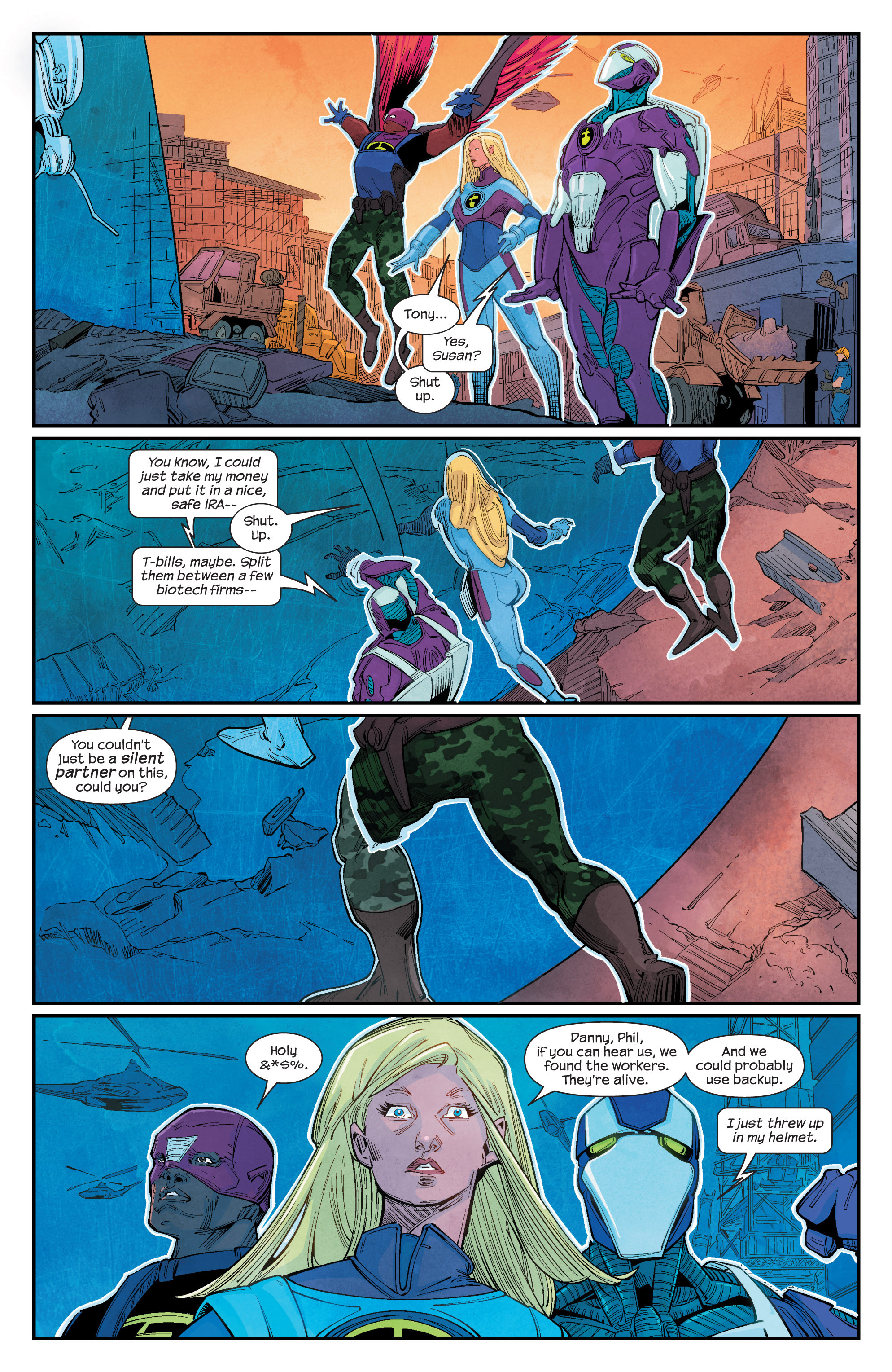 Read online Ultimate FF comic -  Issue #1 - 5