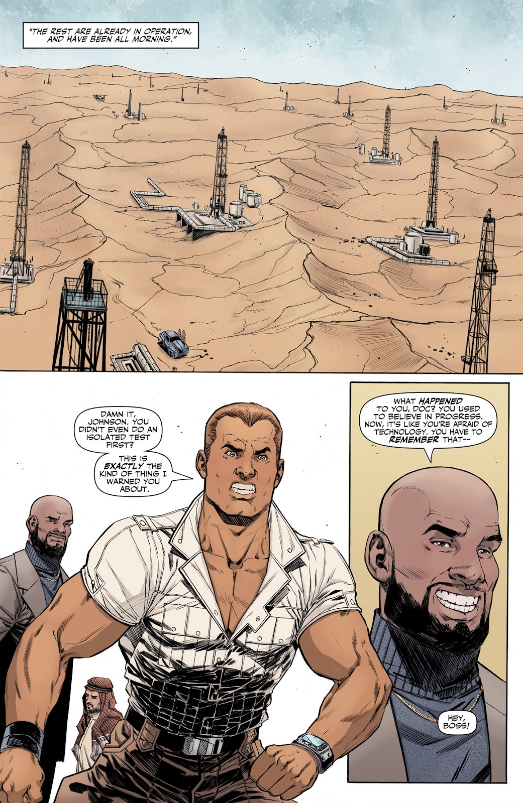 Doc Savage (2013) issue 4 - Page 9