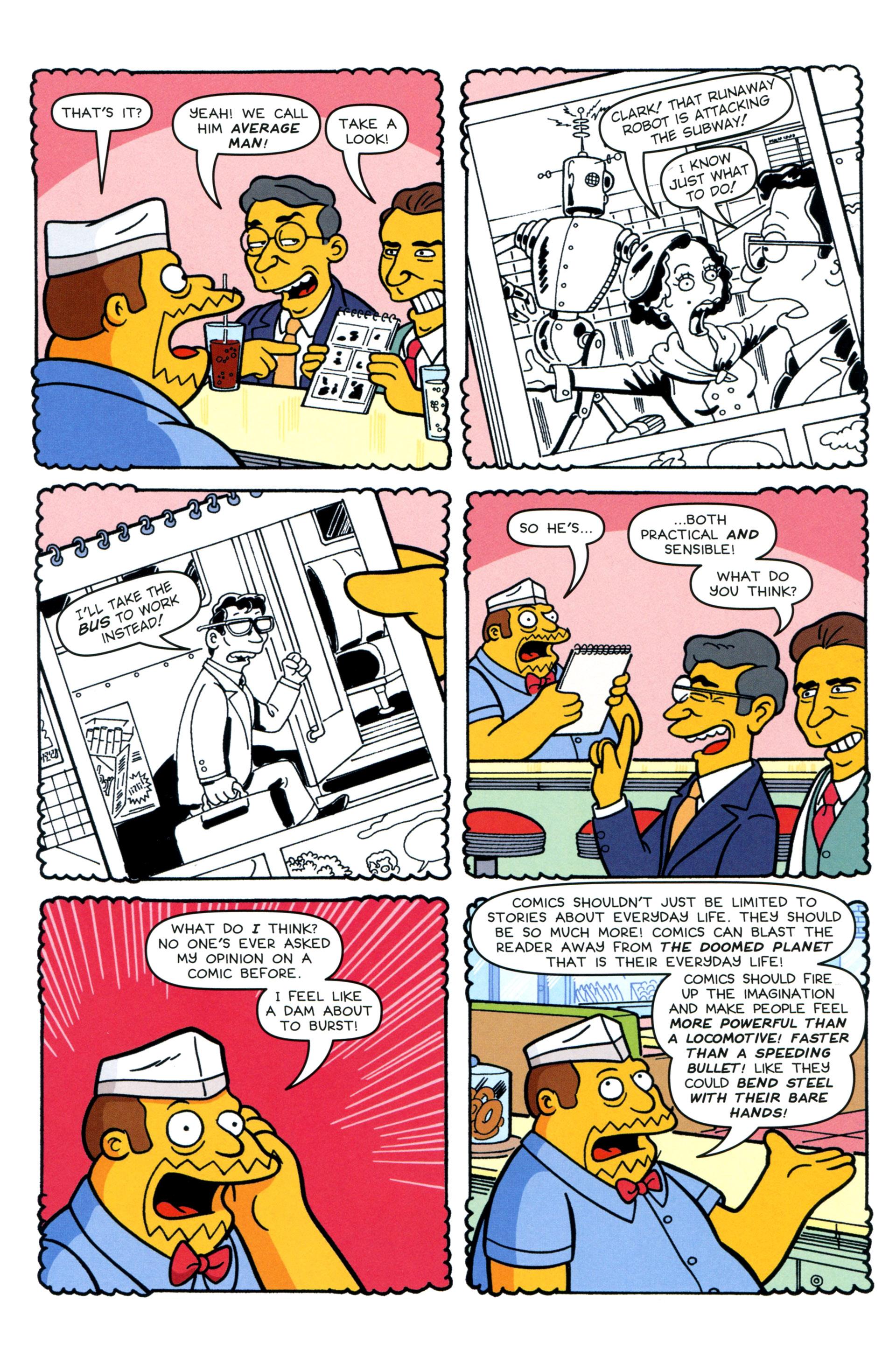 Read online Simpsons Comics comic -  Issue #200 - 25
