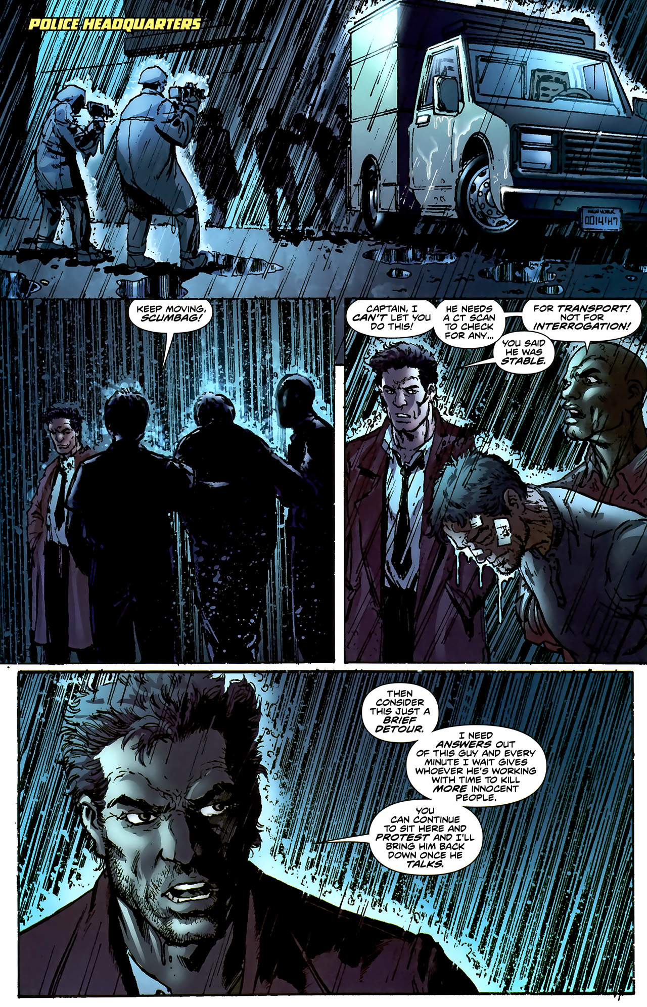 Read online ShadowHawk (2010) comic -  Issue #4 - 7