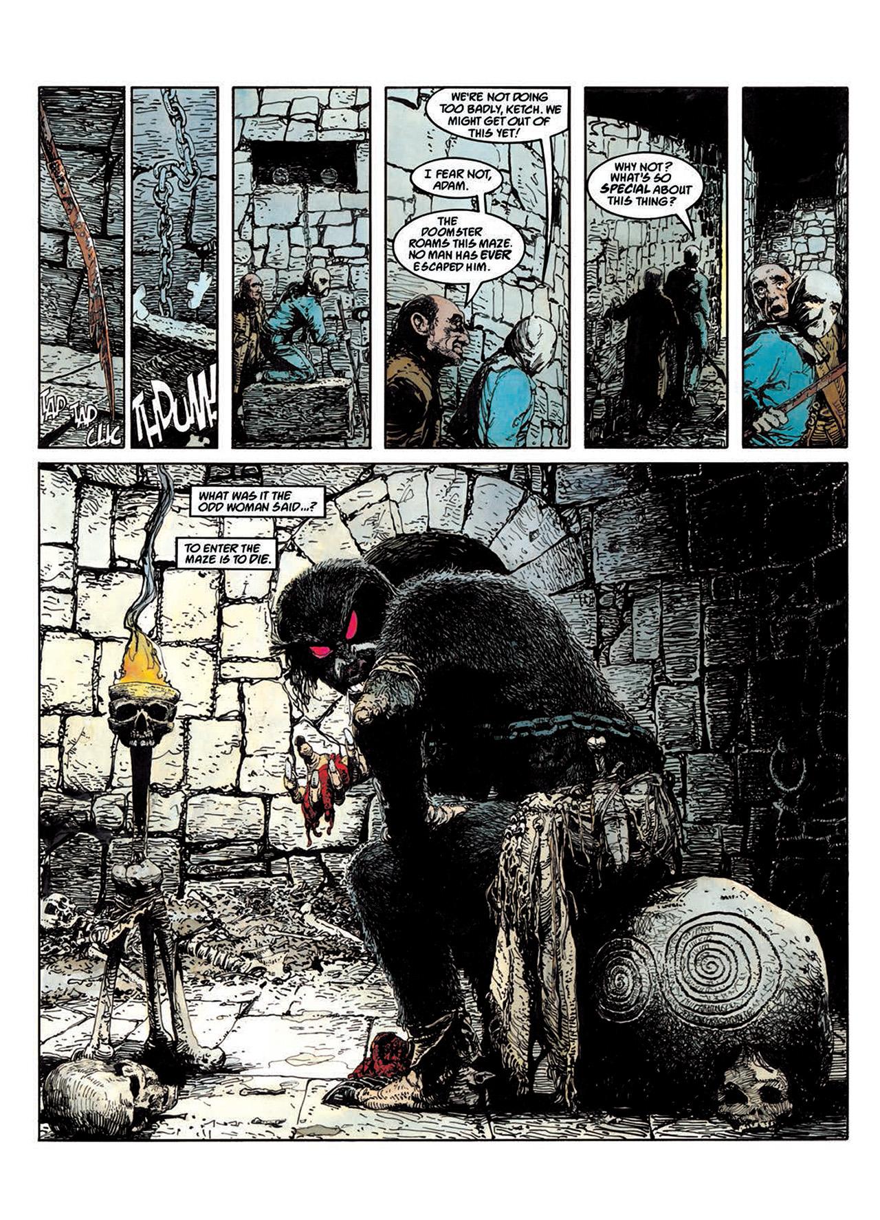 Read online Mazeworld comic -  Issue # TPB - 46