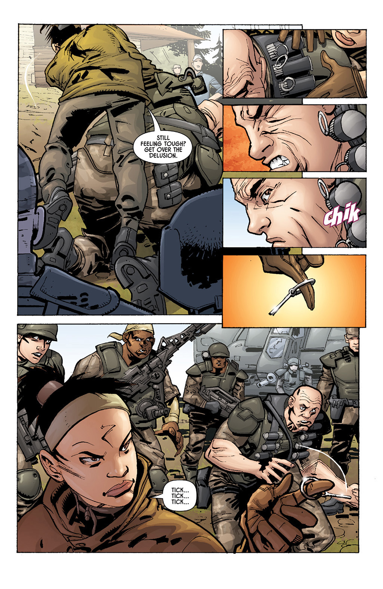 Read online Aliens vs. Predator: Three World War comic -  Issue #1 - 18