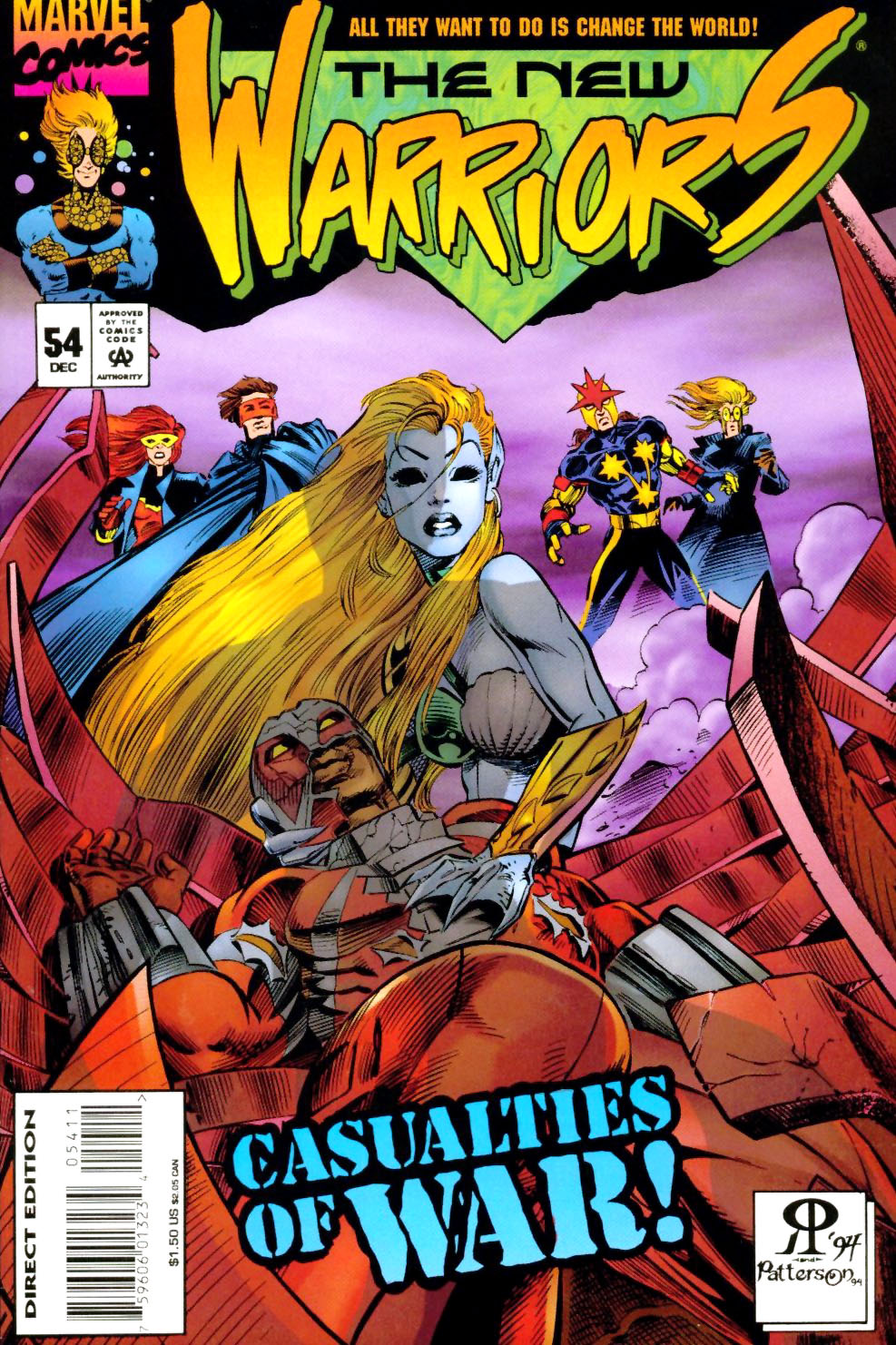 The New Warriors Issue #54 #58 - English 1
