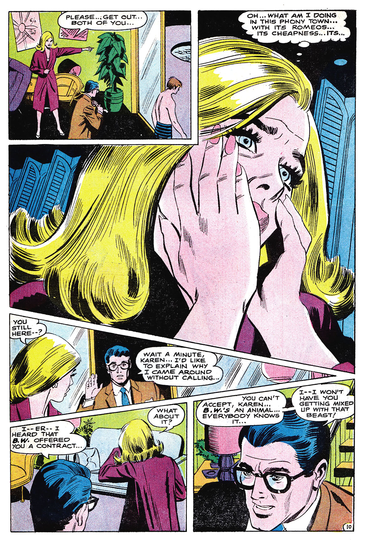 Read online Secret Hearts comic -  Issue #132 - 26