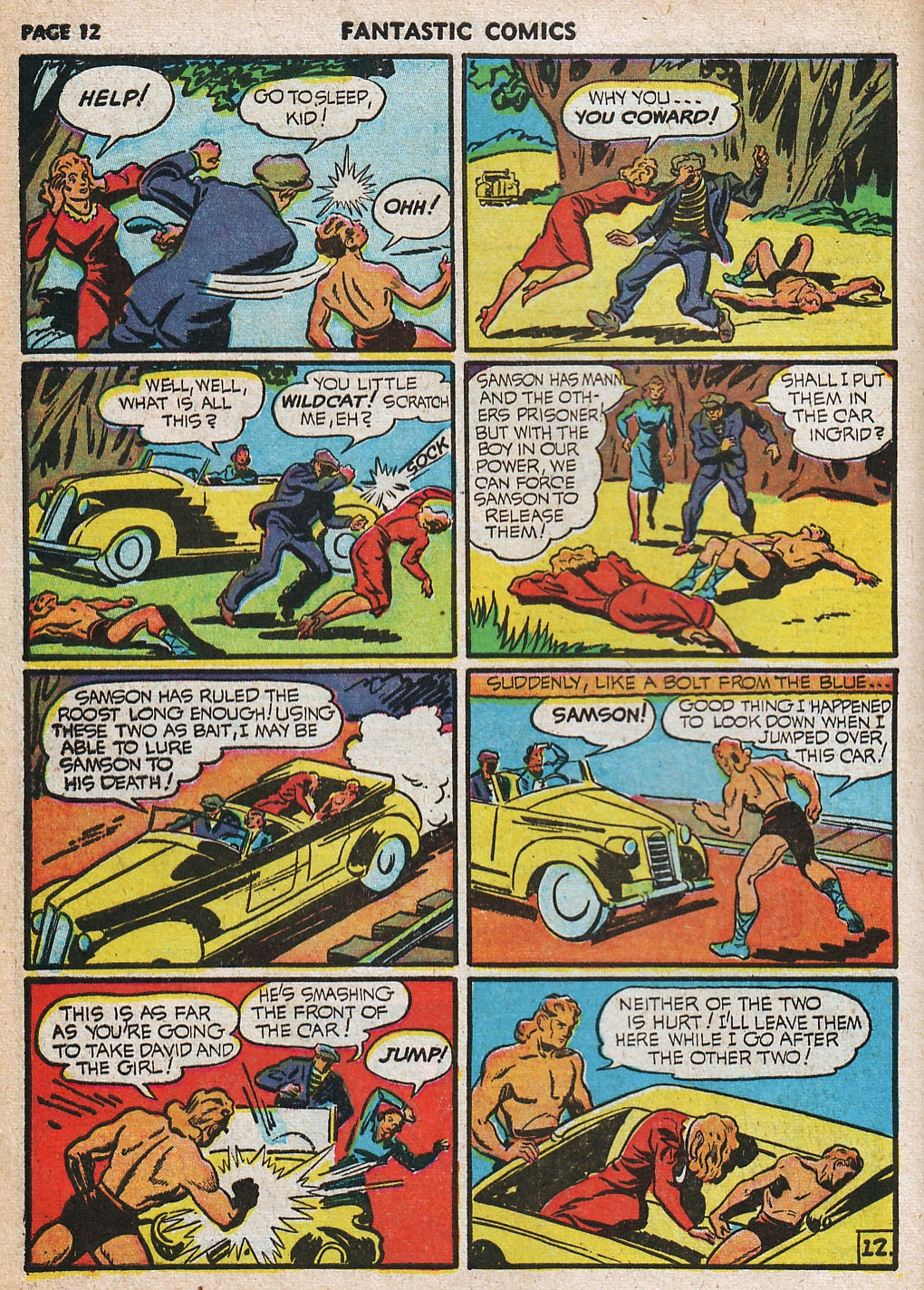 Read online Fantastic Comics comic -  Issue #20 - 13