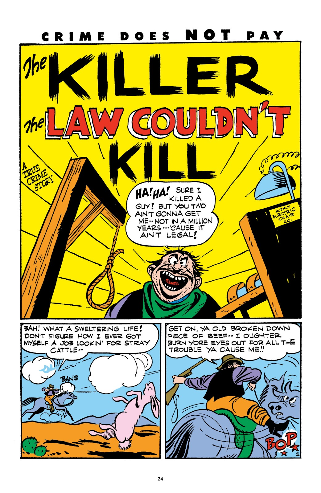 Read online Crime Does Not Pay Archives comic -  Issue # TPB 3 (Part 1) - 24