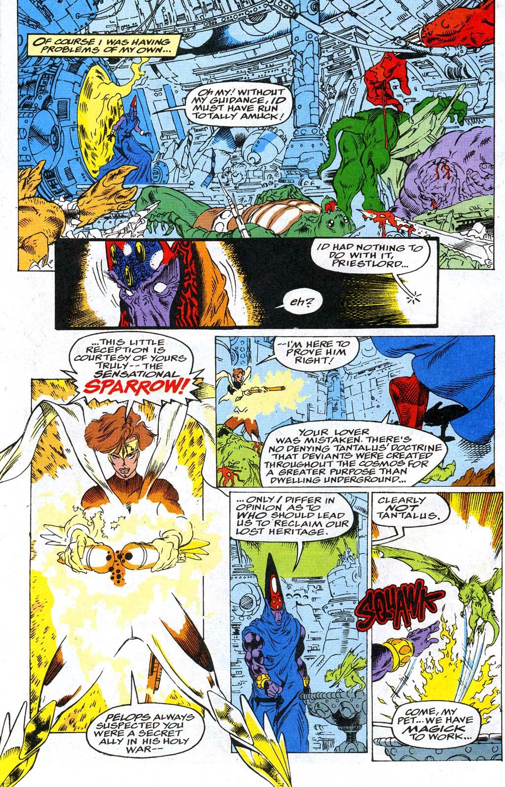 Read online Blackwulf comic -  Issue #9 - 11