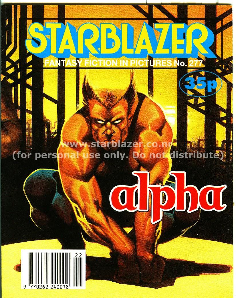 Starblazer issue 277 - Page 1