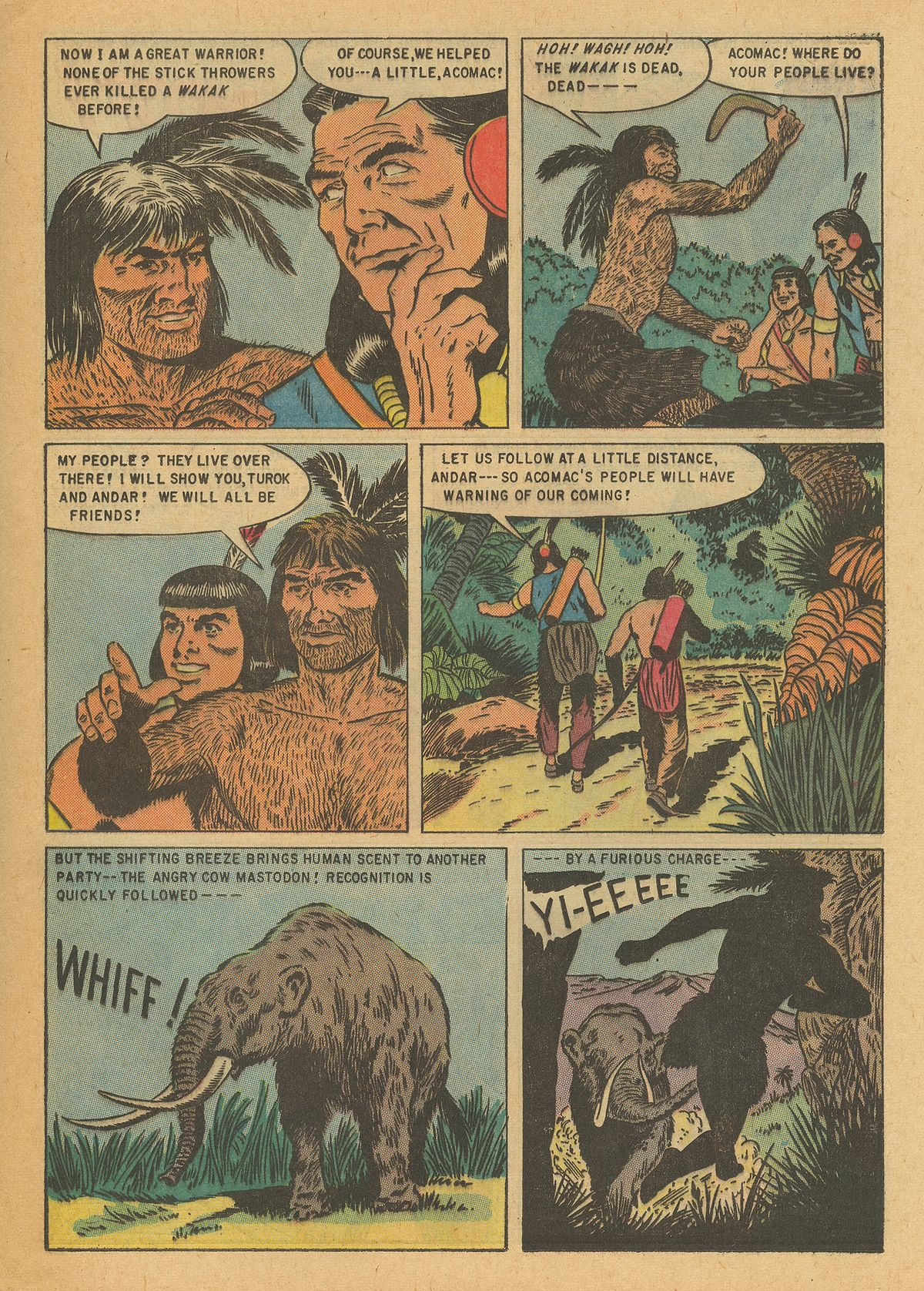 Read online Turok, Son of Stone comic -  Issue #6 - 25