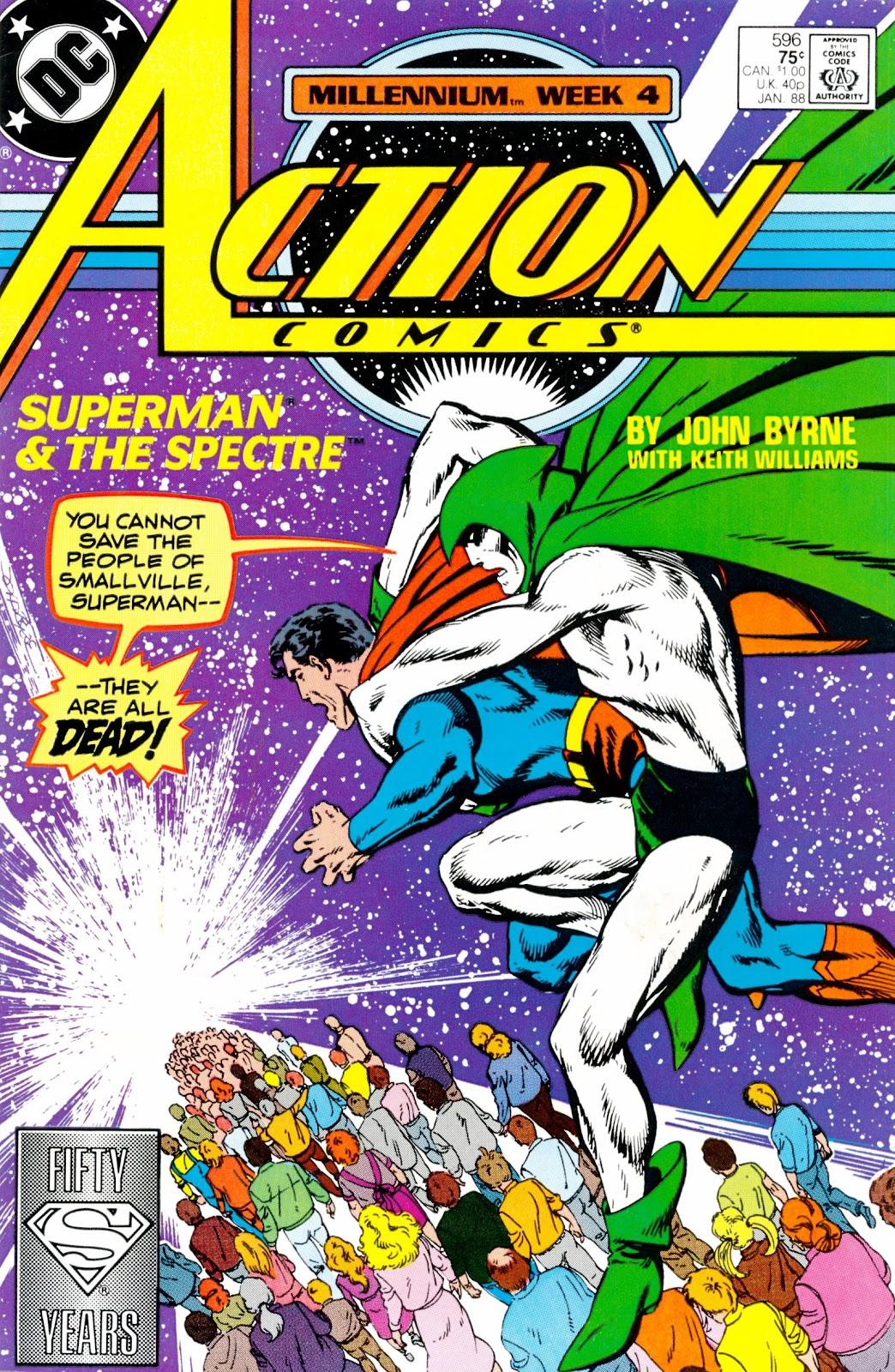 Action Comics (1938) 596 Page 1