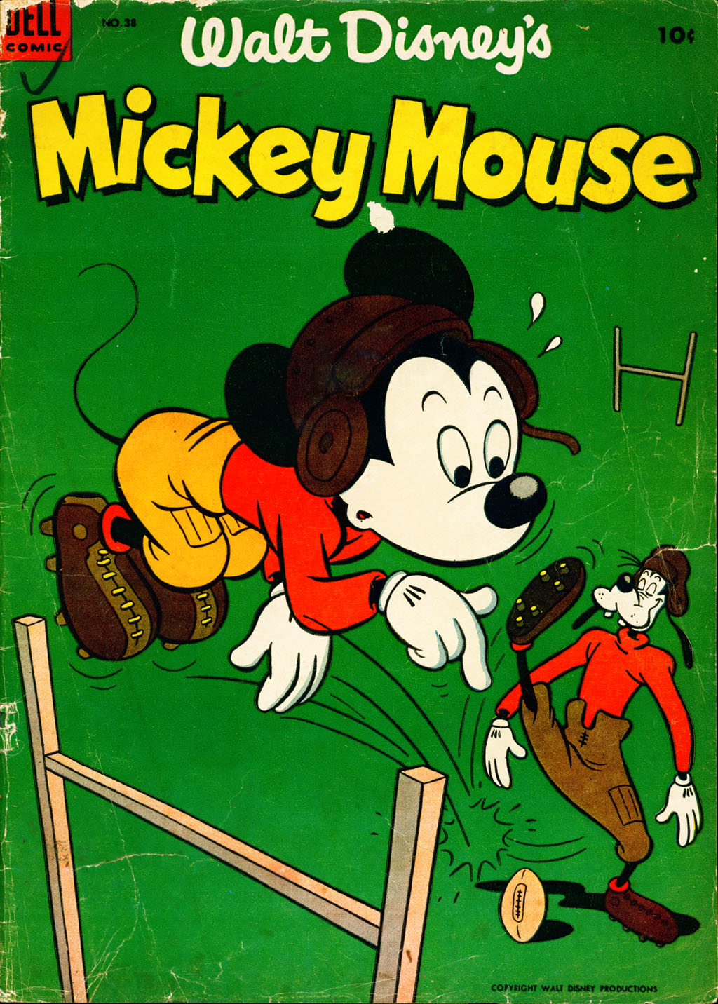 Walt Disney's Mickey Mouse issue 38 - Page 1