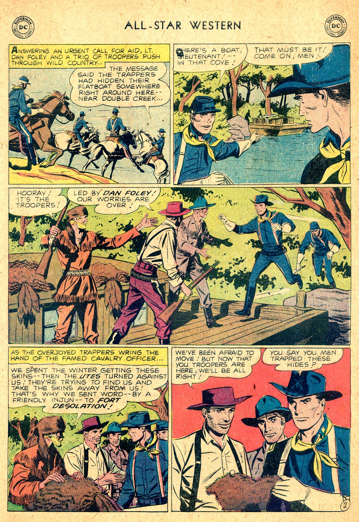 Read online All-Star Western (1951) comic -  Issue #104 - 16