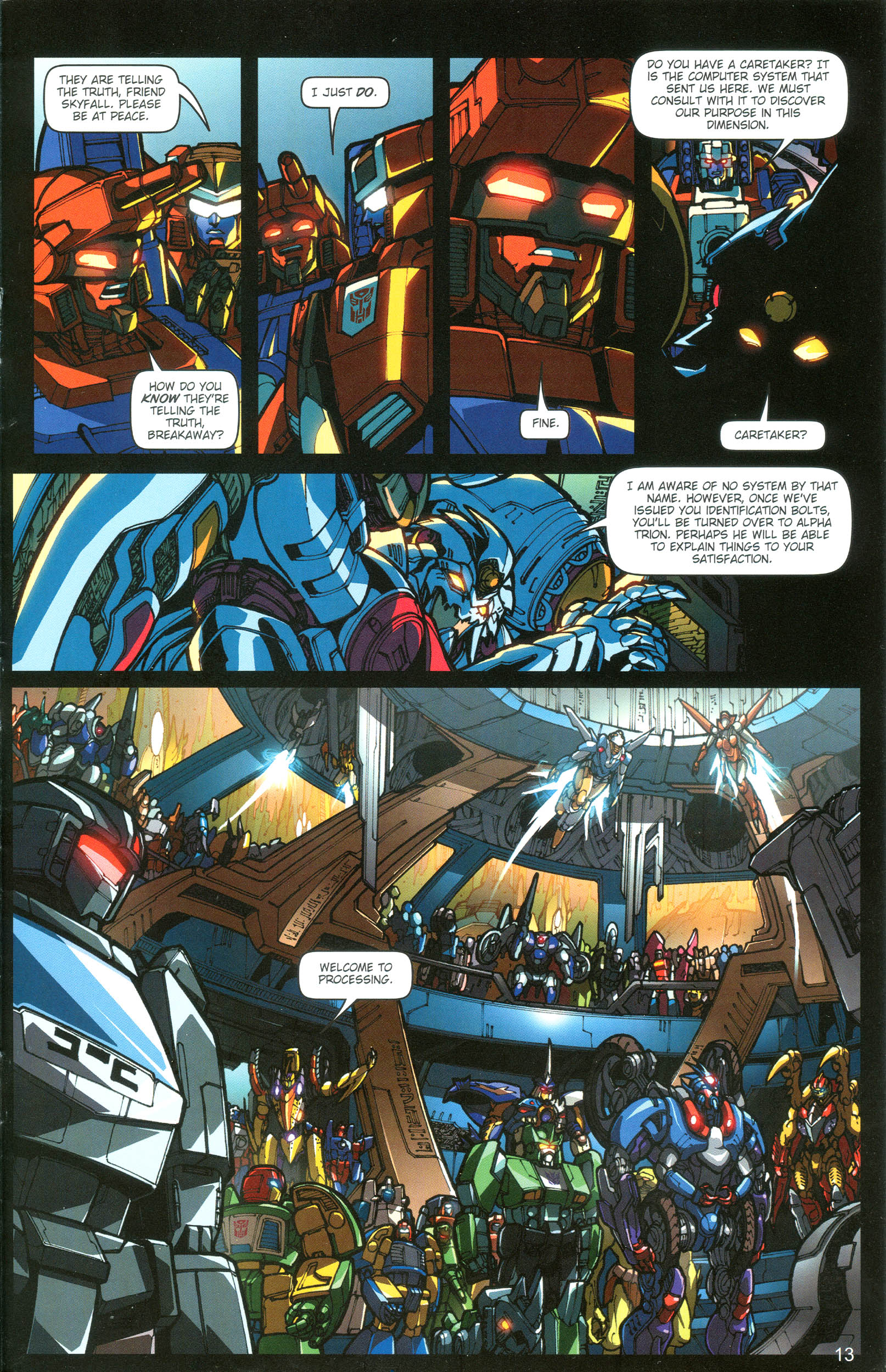 Read online Transformers: Collectors' Club comic -  Issue #19 - 13