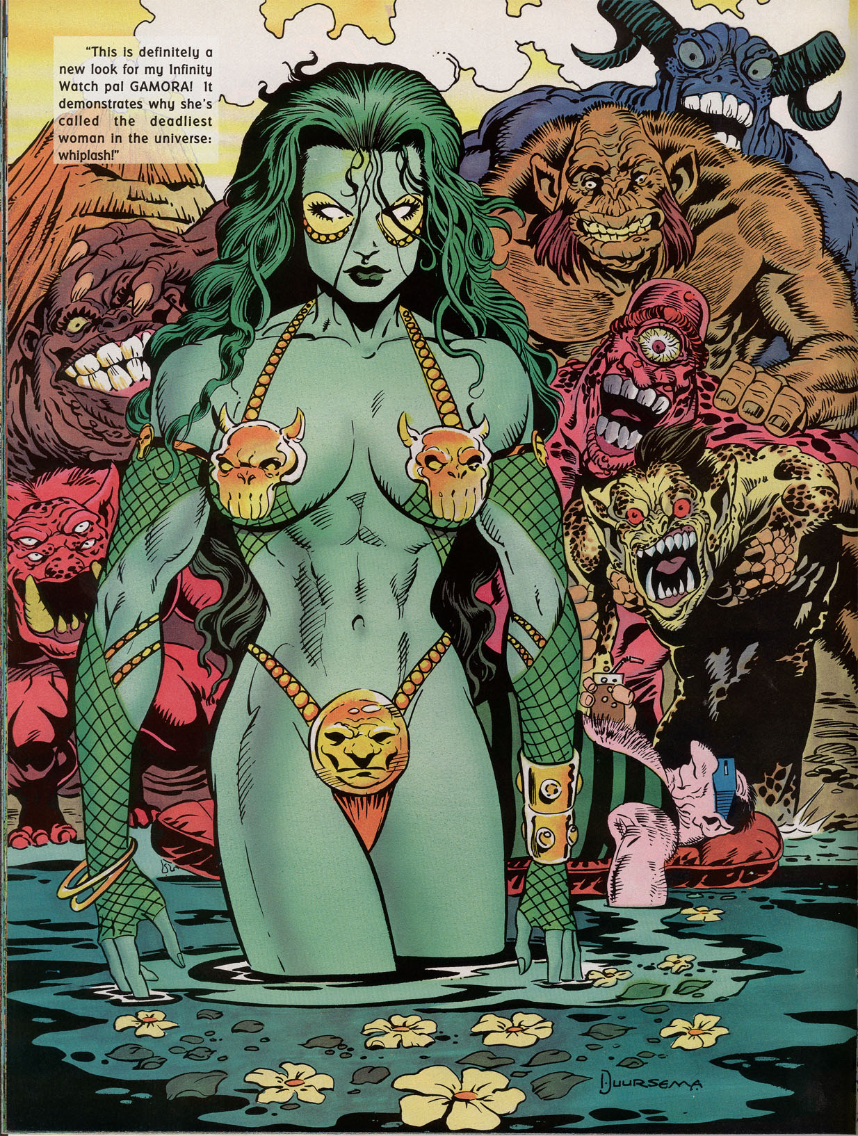 Read online Marvel Swimsuit Special comic -  Issue #2 - 20