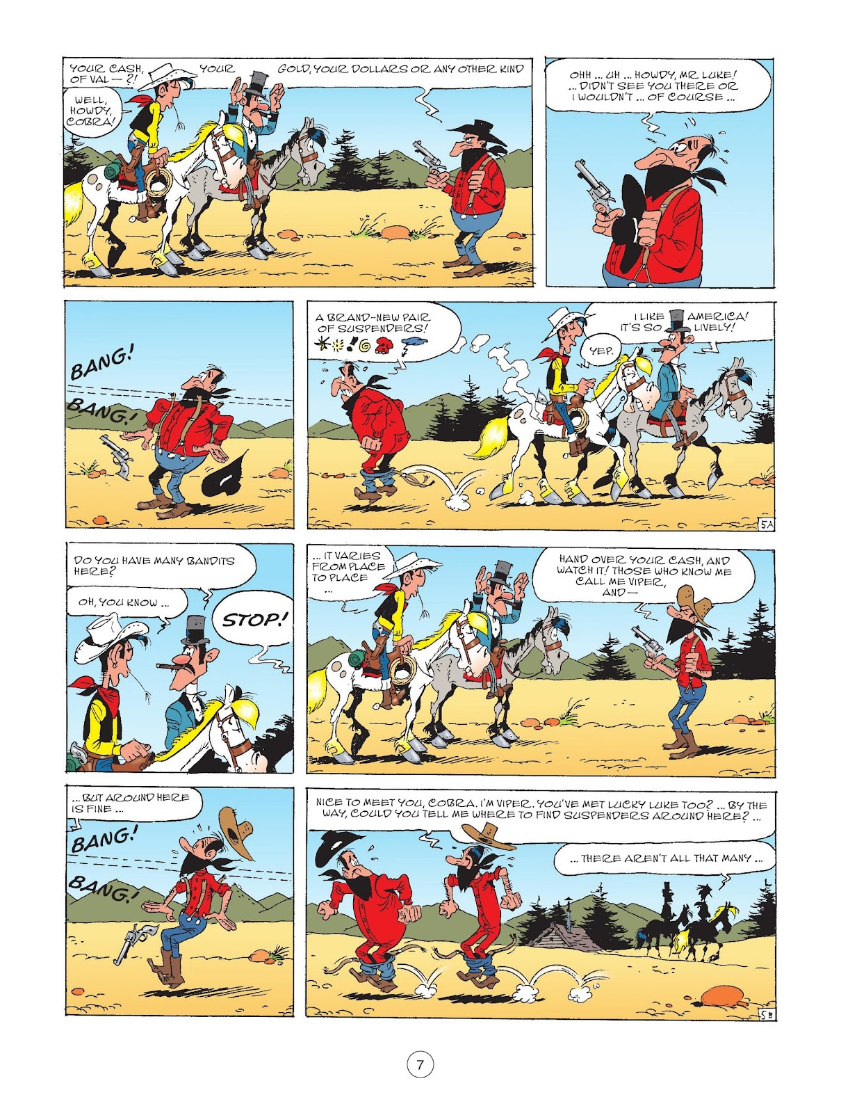A Lucky Luke Adventure issue 72 - Page 9