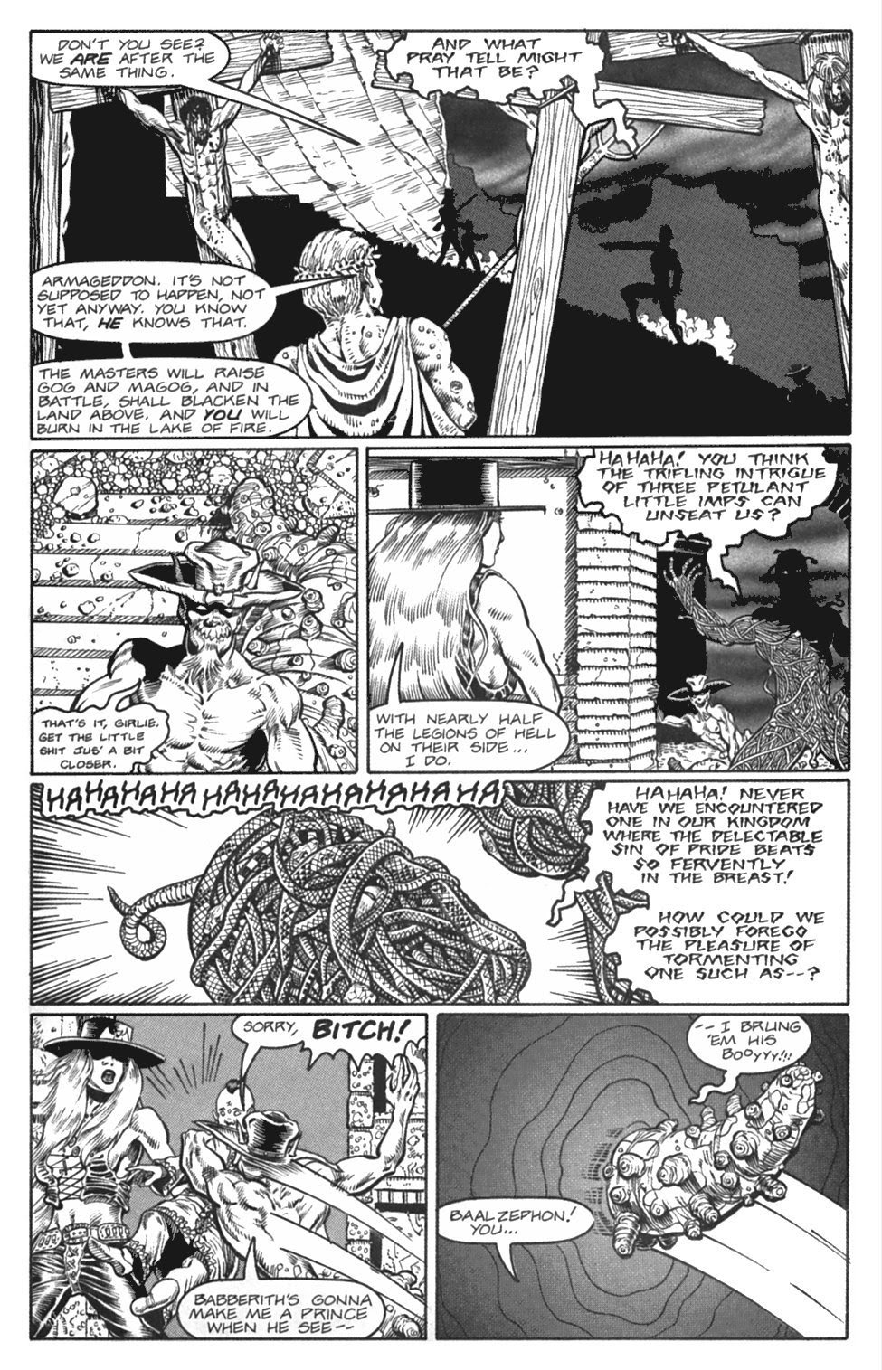 Read online Gunfighters in Hell comic -  Issue #4 - 26
