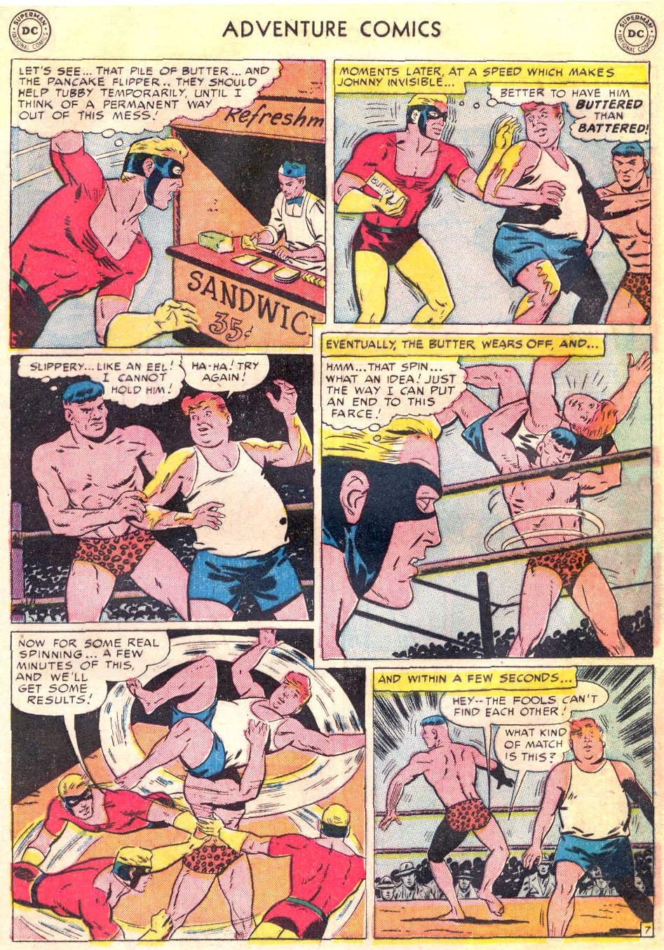 Read online Adventure Comics (1938) comic -  Issue #166 - 26