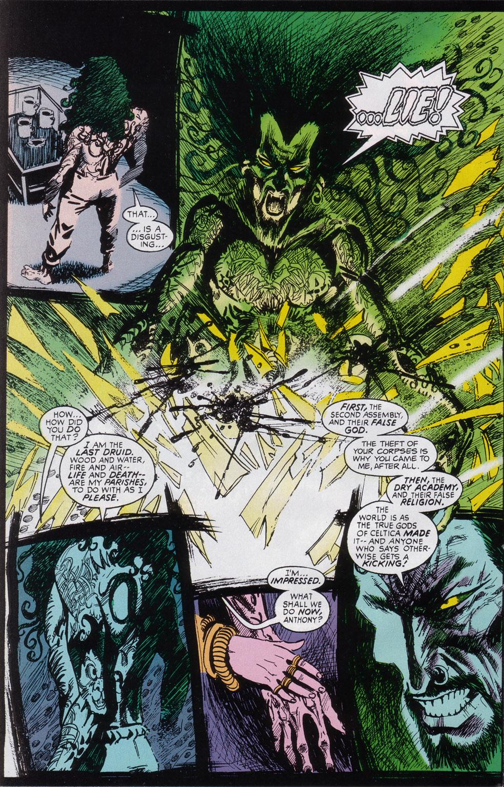 Read online Druid comic -  Issue #3 - 7
