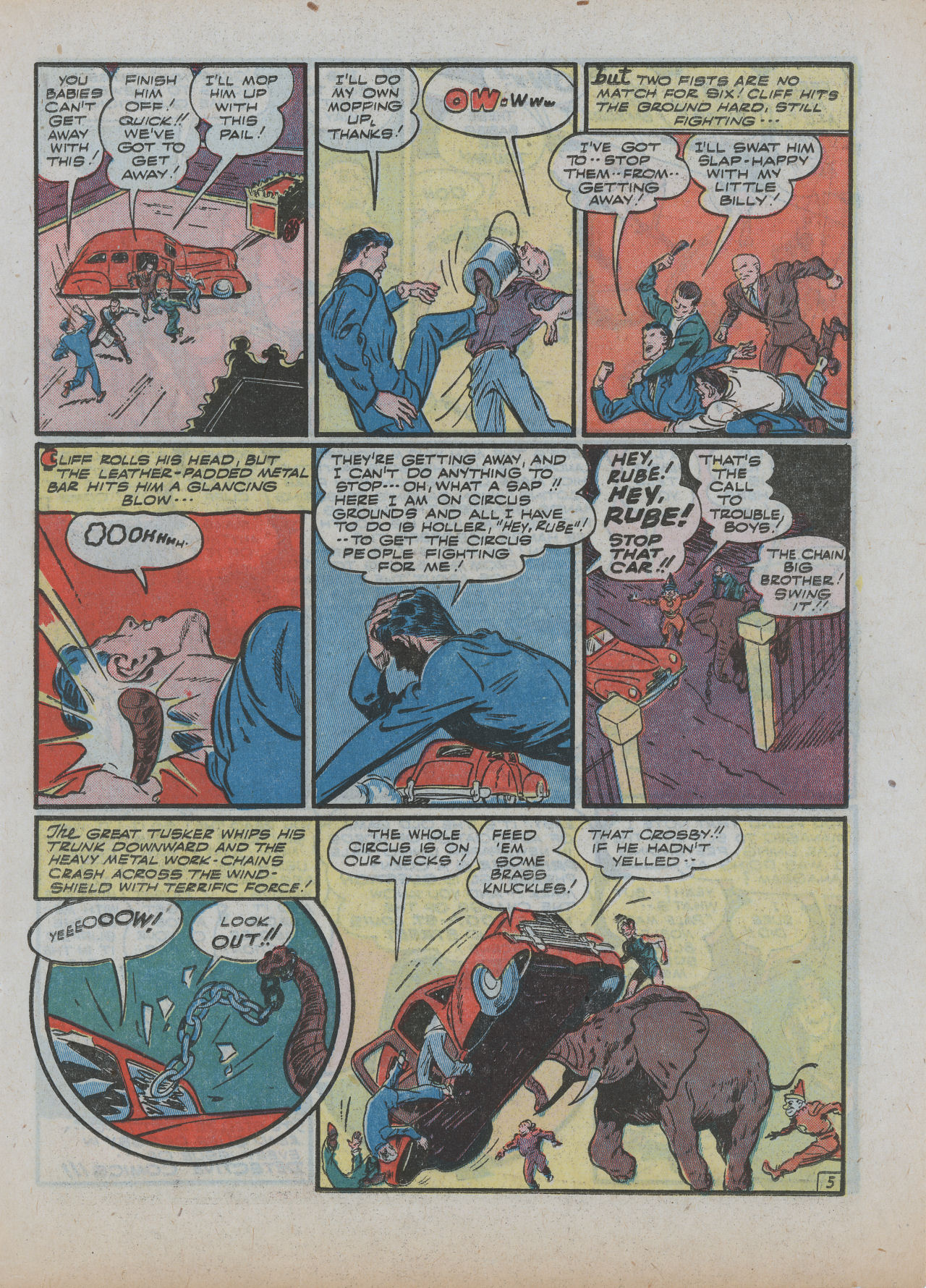 Read online Detective Comics (1937) comic -  Issue #63 - 27