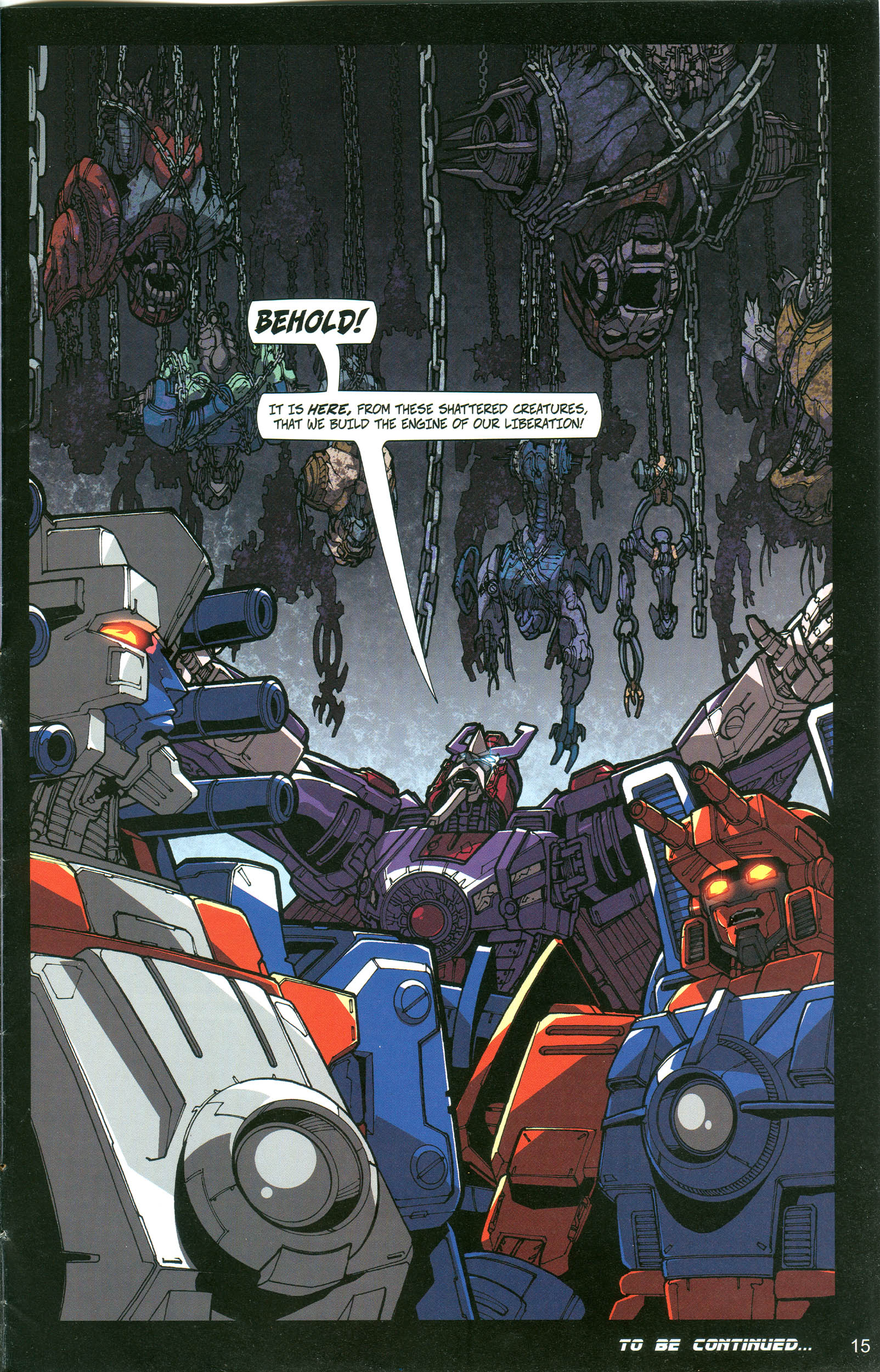 Read online Transformers: Collectors' Club comic -  Issue #20 - 15