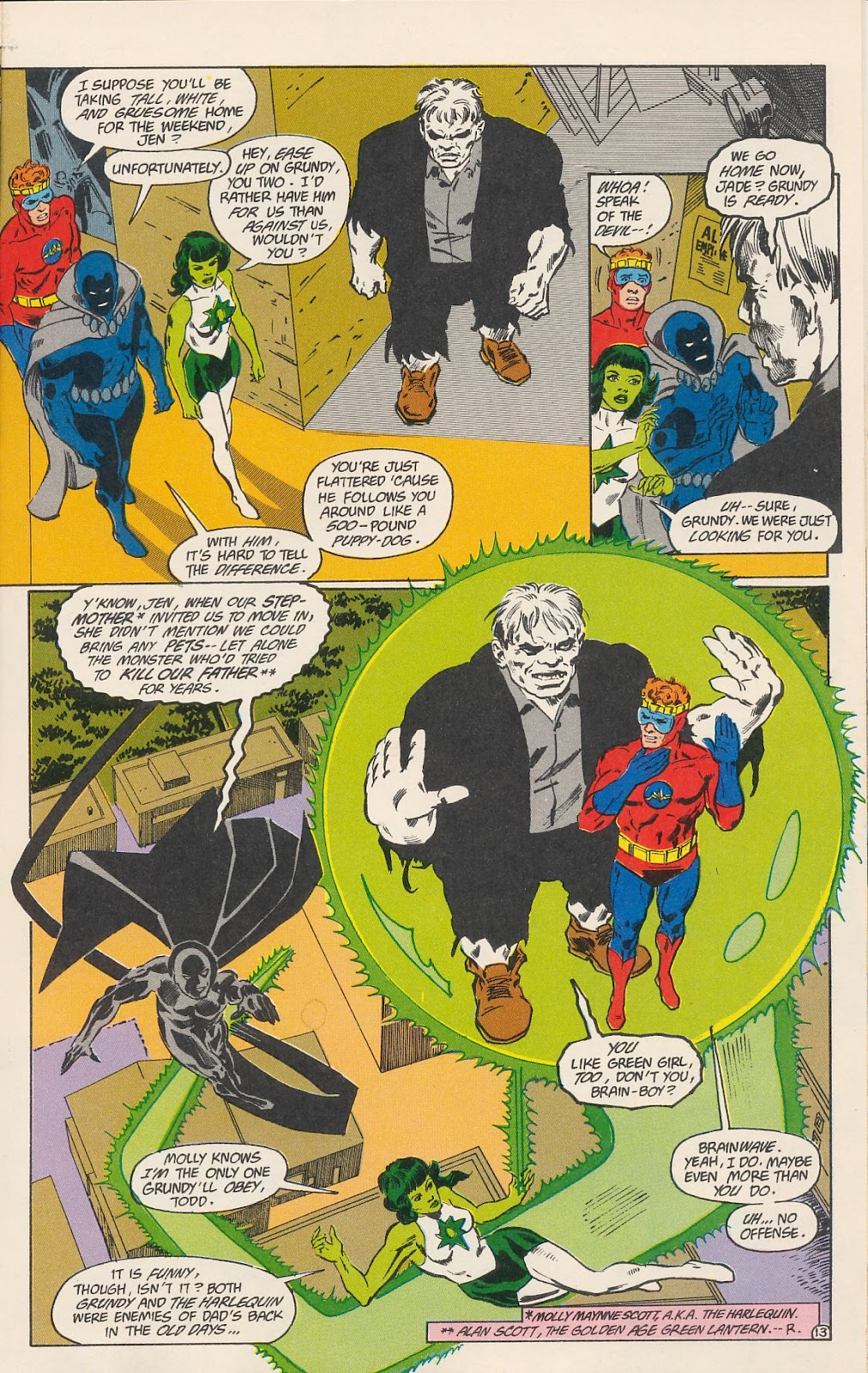 Infinity Inc. (1984) issue 40 - Page 15