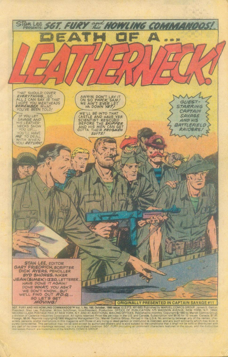 Read online Sgt. Fury comic -  Issue #160 - 3