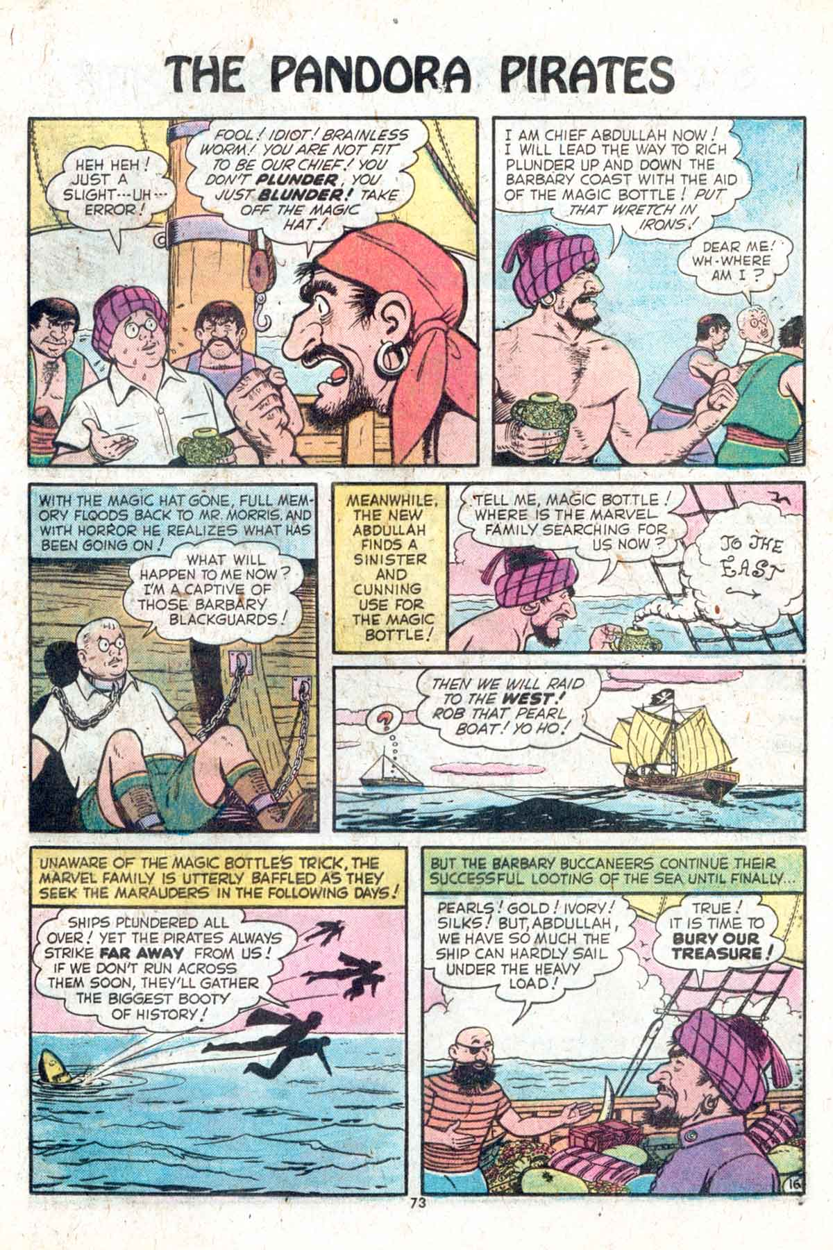 Read online Shazam! (1973) comic -  Issue #13 - 74
